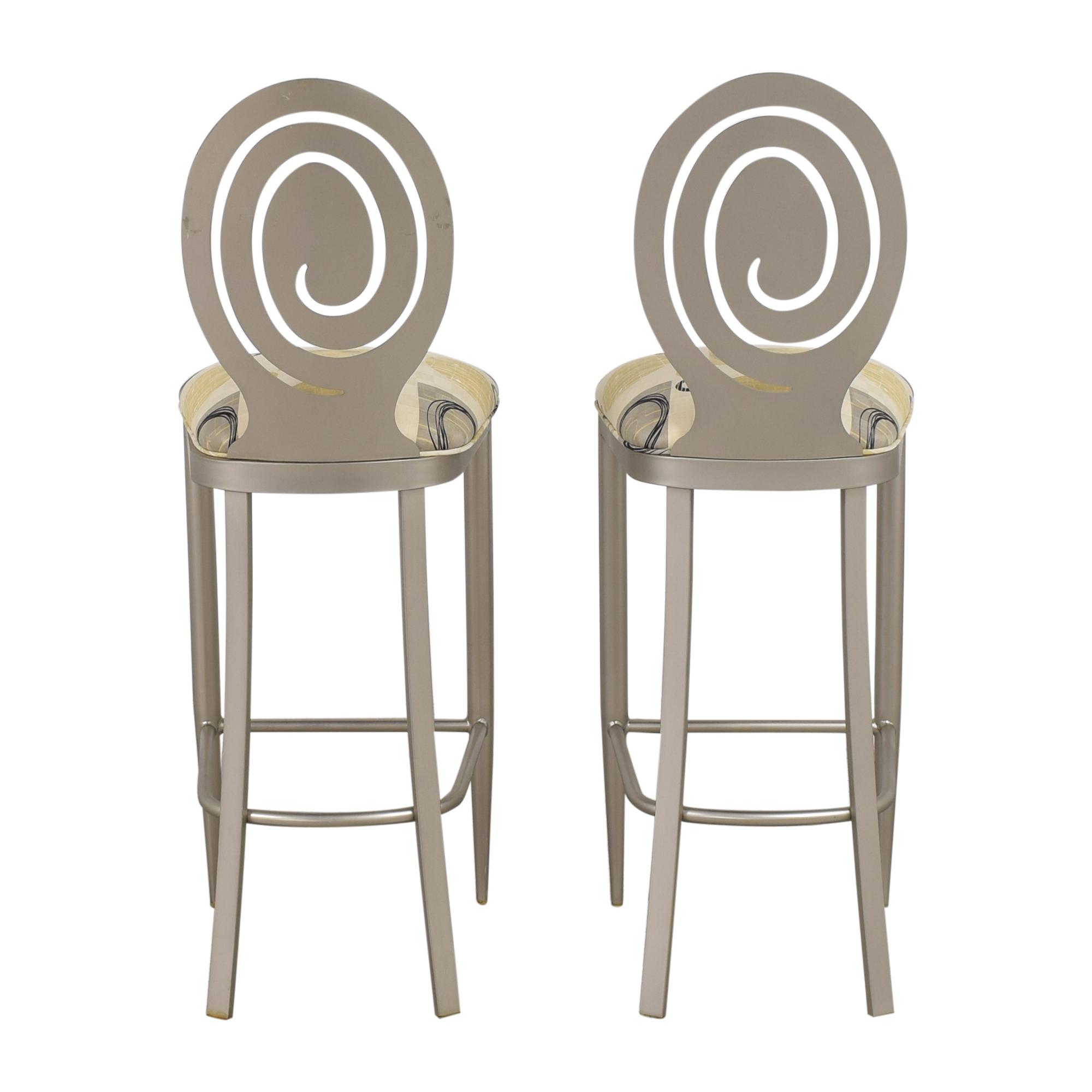 shop Ethan Allen Radius Bar Stools Ethan Allen Chairs