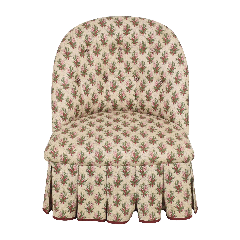 Jonas Jonas Skirted Slipper Chair ma