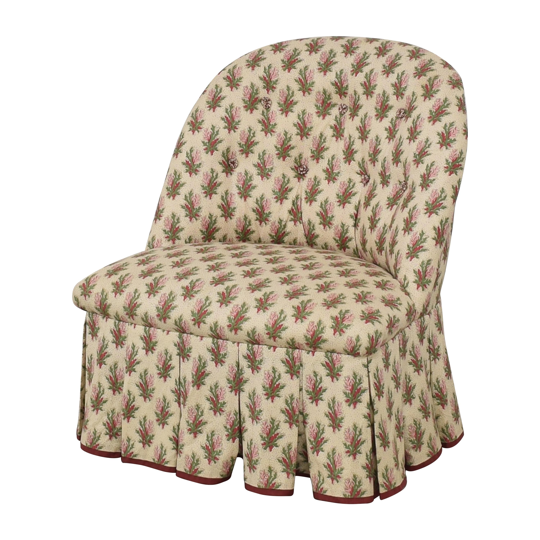 Jonas Skirted Slipper Chair / Accent Chairs