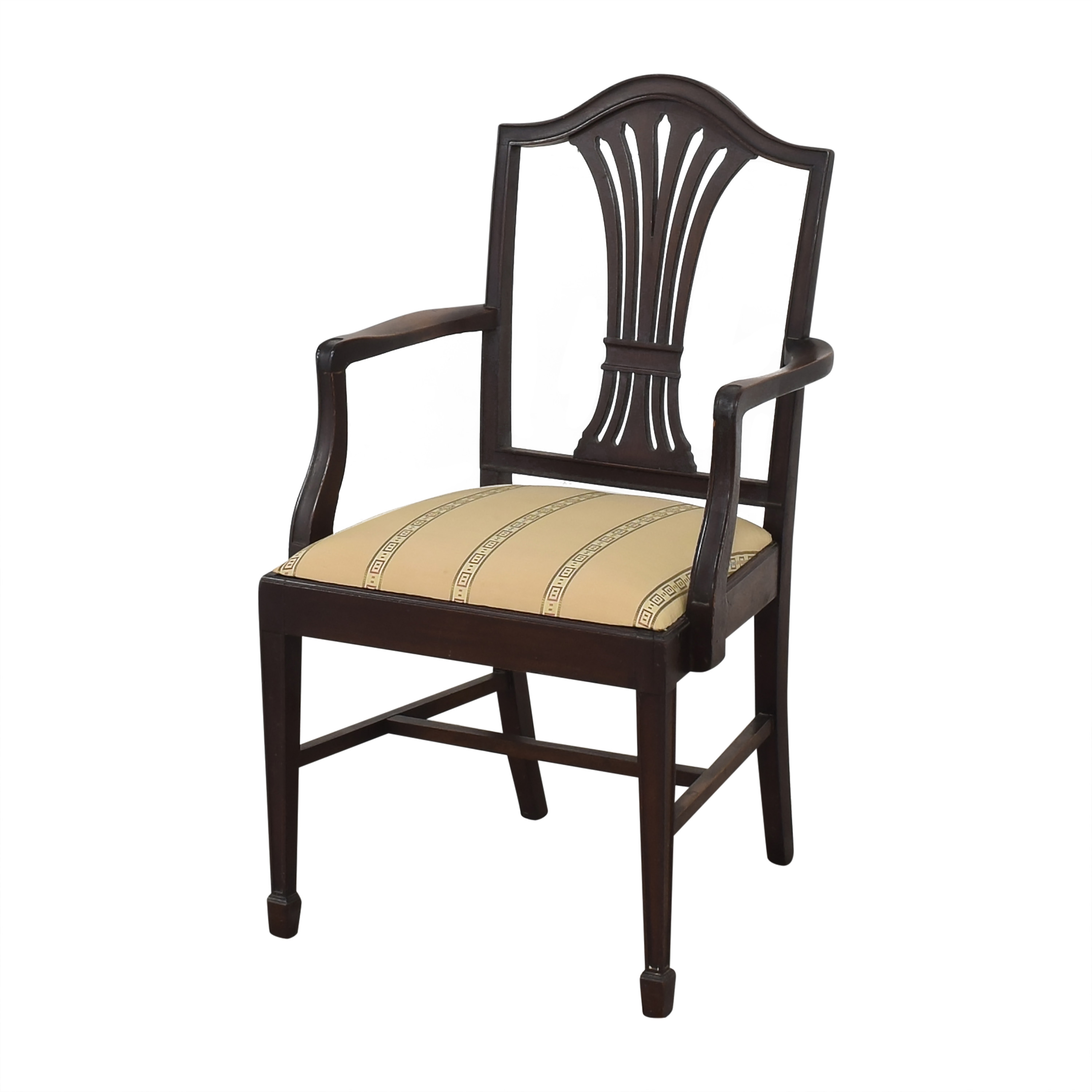 Sheaf Back Dining Arm Chairs Chairs