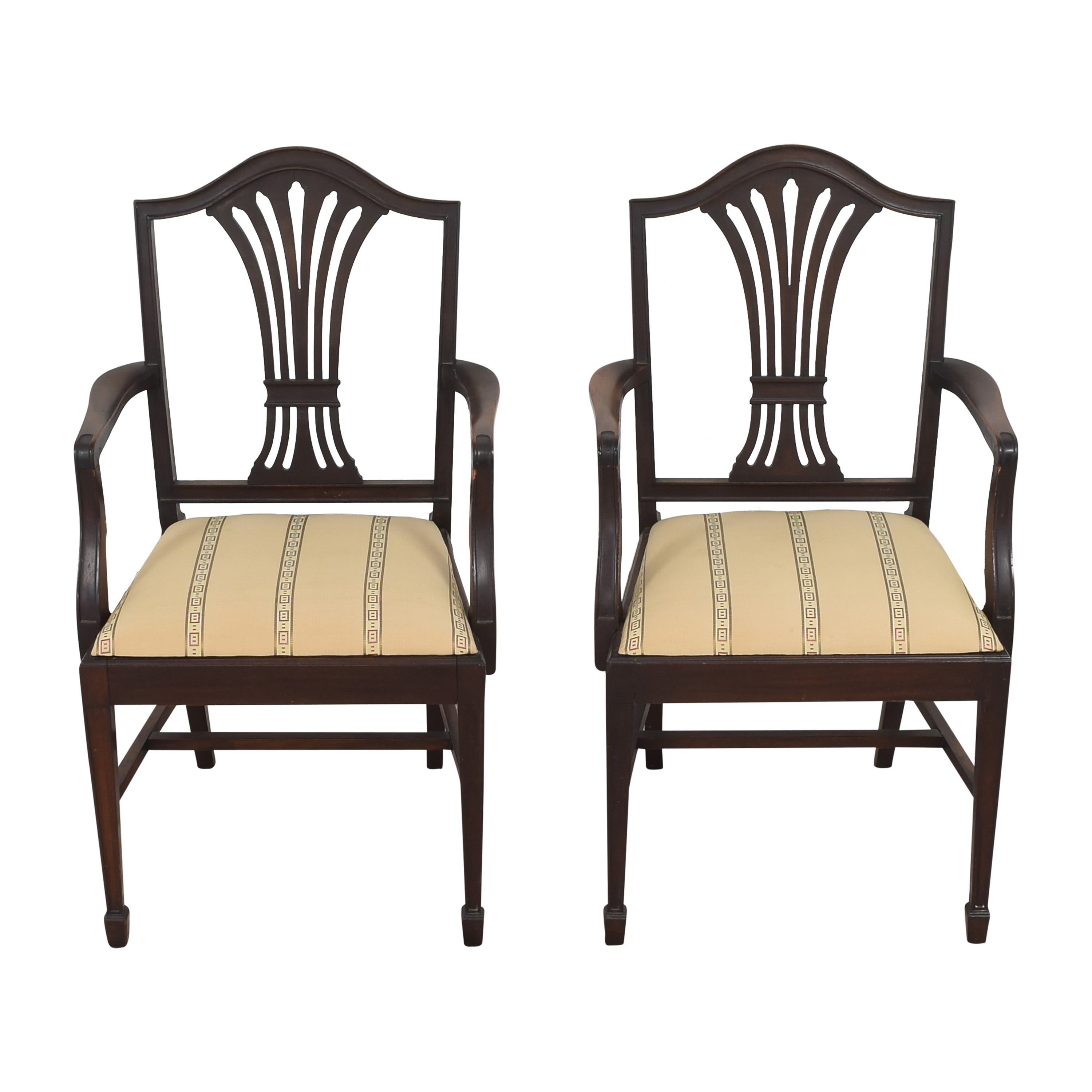 Sheaf Back Dining Arm Chairs Dining Chairs