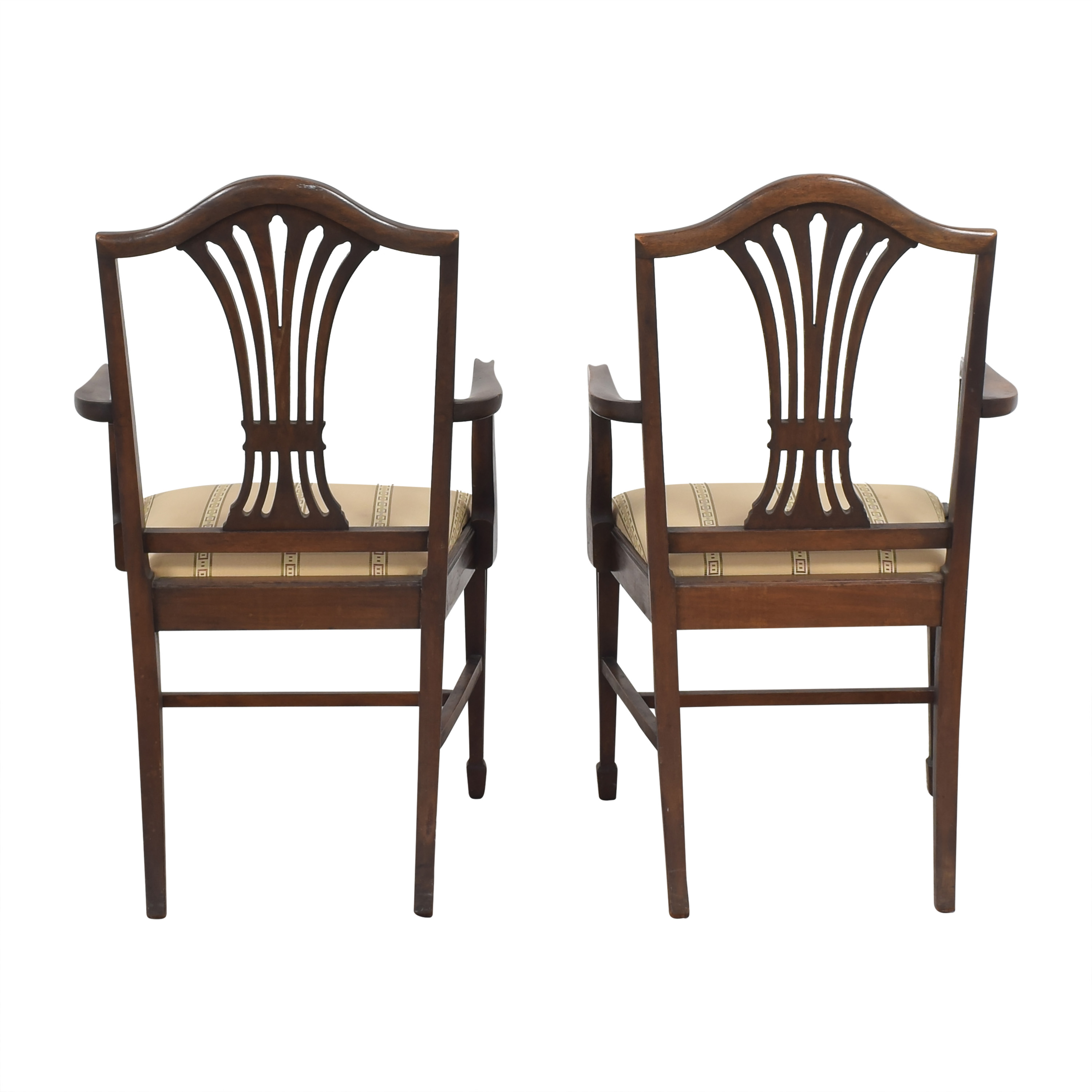 Sheaf Back Dining Arm Chairs / Dining Chairs