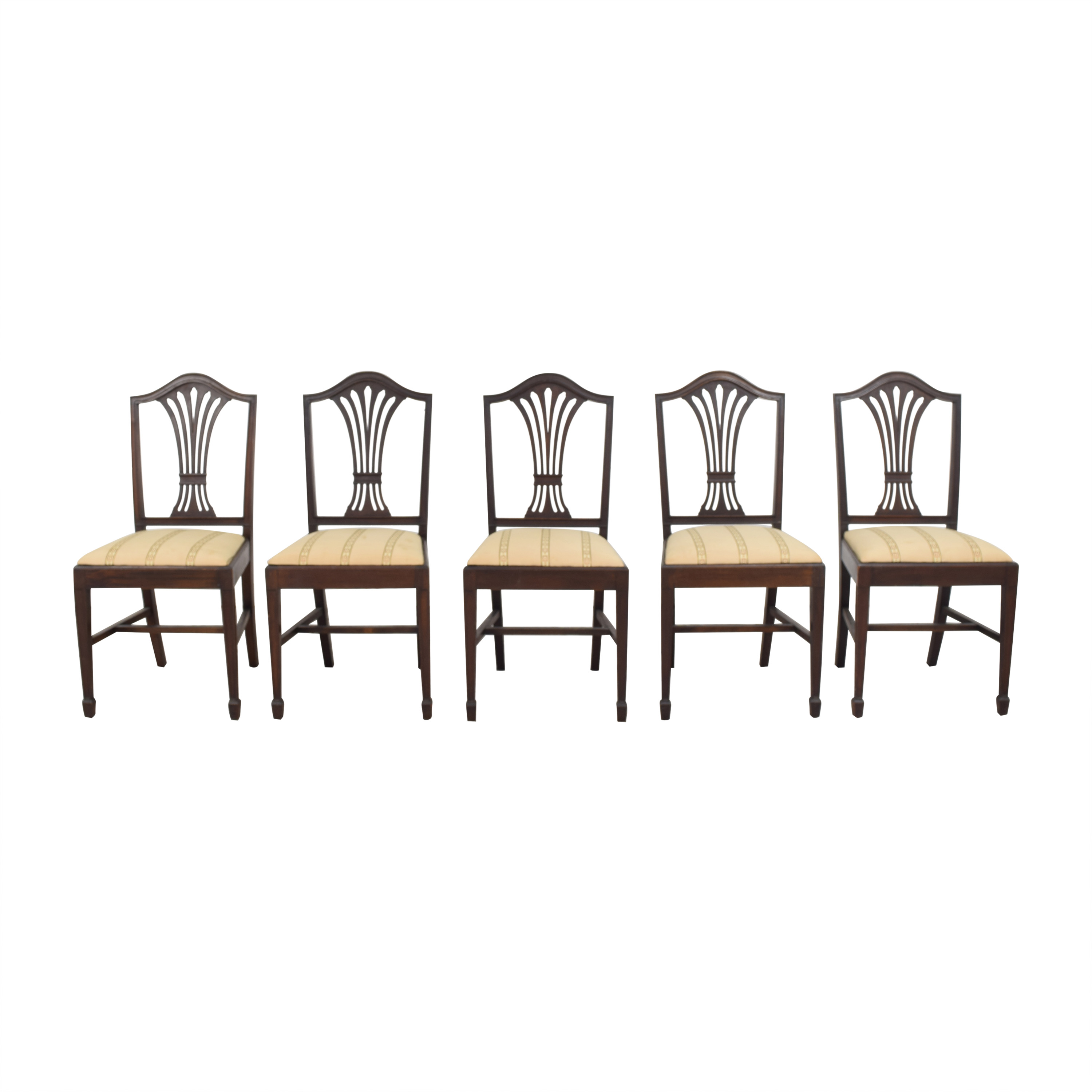 Sheaf Back Dining Side Chairs ct
