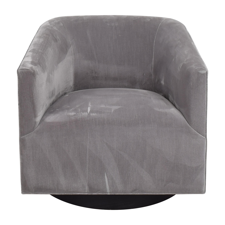 buy Restoration Hardware 1950s Italian Shelter Arm Swivel Chair Restoration Hardware Accent Chairs