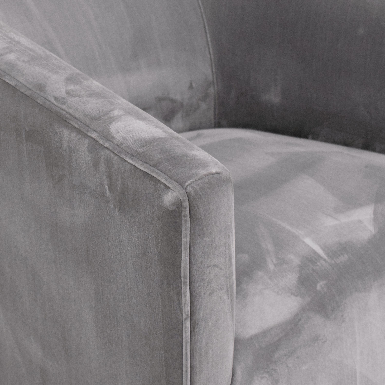shop Restoration Hardware 1950s Italian Shelter Arm Swivel Chair Restoration Hardware Chairs