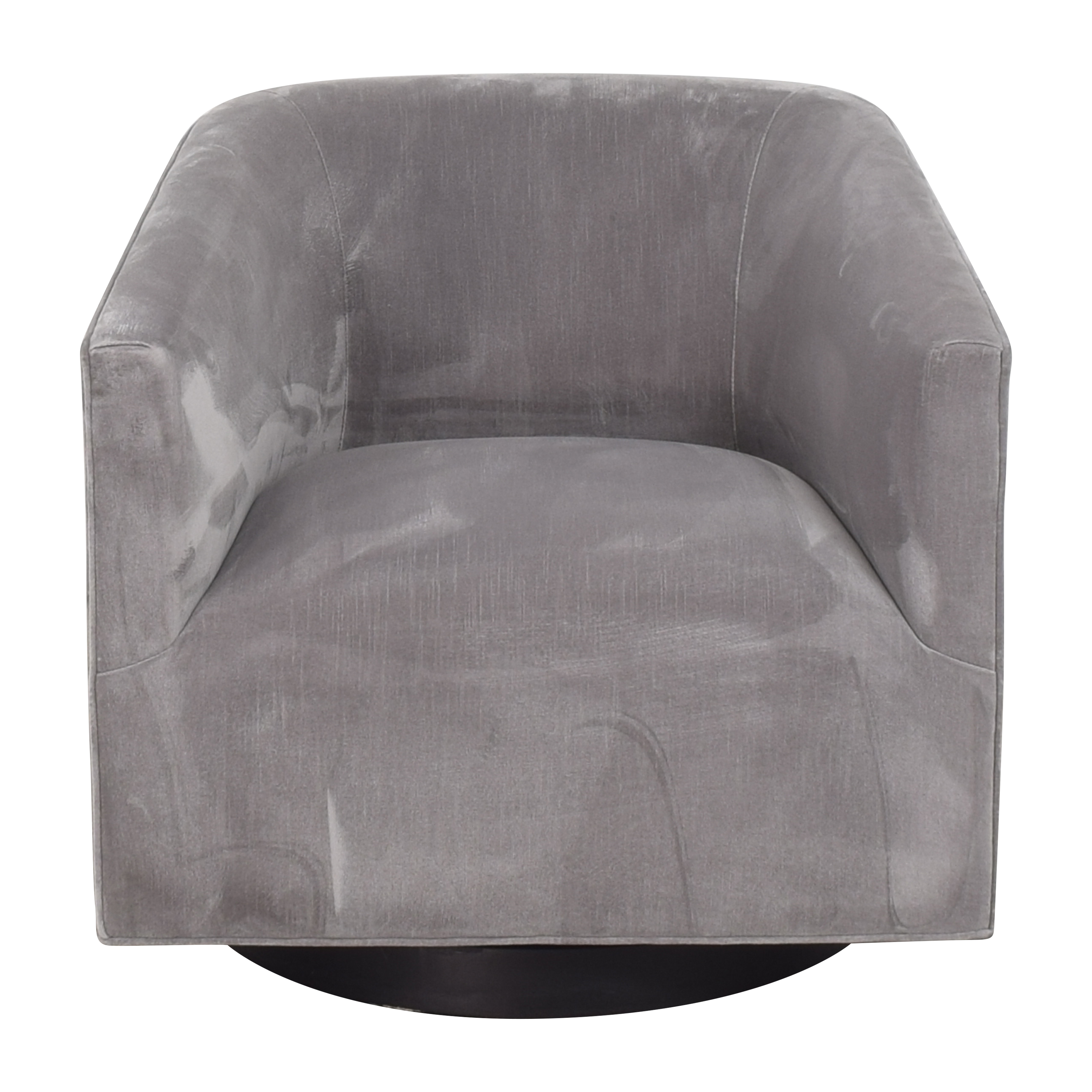 Restoration Hardware Restoration Hardware 1950s Italian Shelter Arm Swivel Chair Accent Chairs