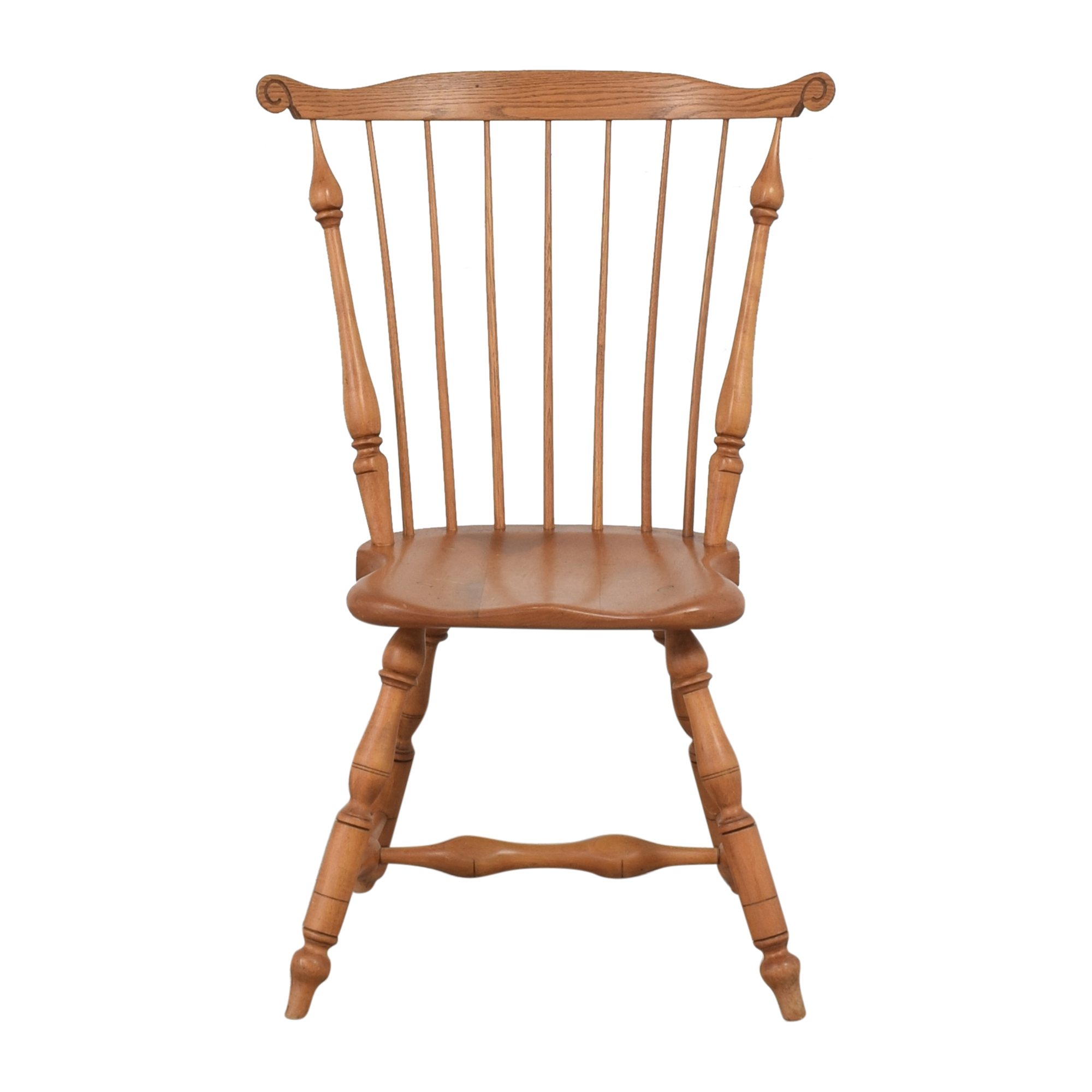 Duckloe Duckloe Comb Back Dining Side Chair second hand