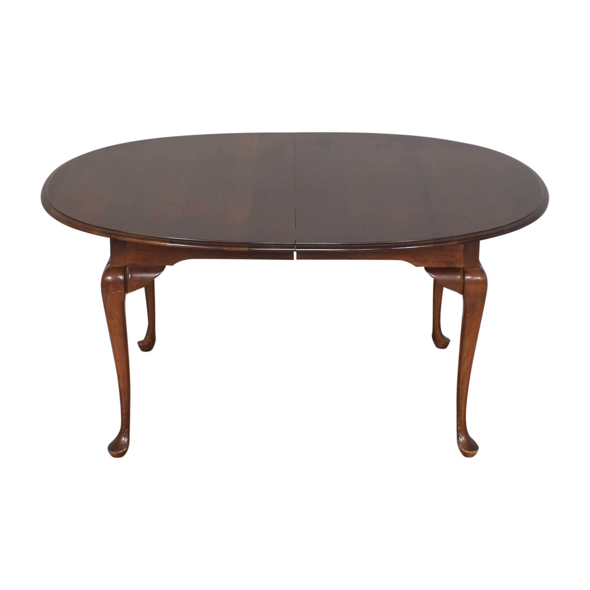 shop Drexel Heritage Queen Anne Dining Table Drexel Heritage