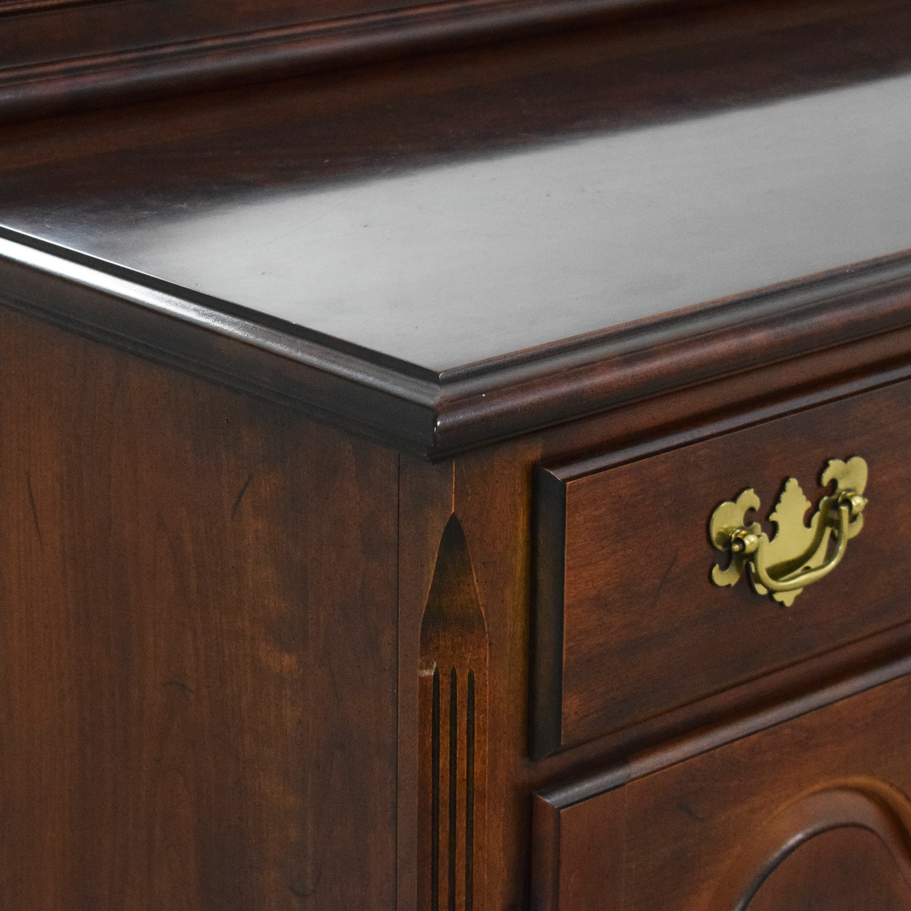 buy Drexel Heritage Chippendale-Style Buffet with Mirror Drexel Heritage