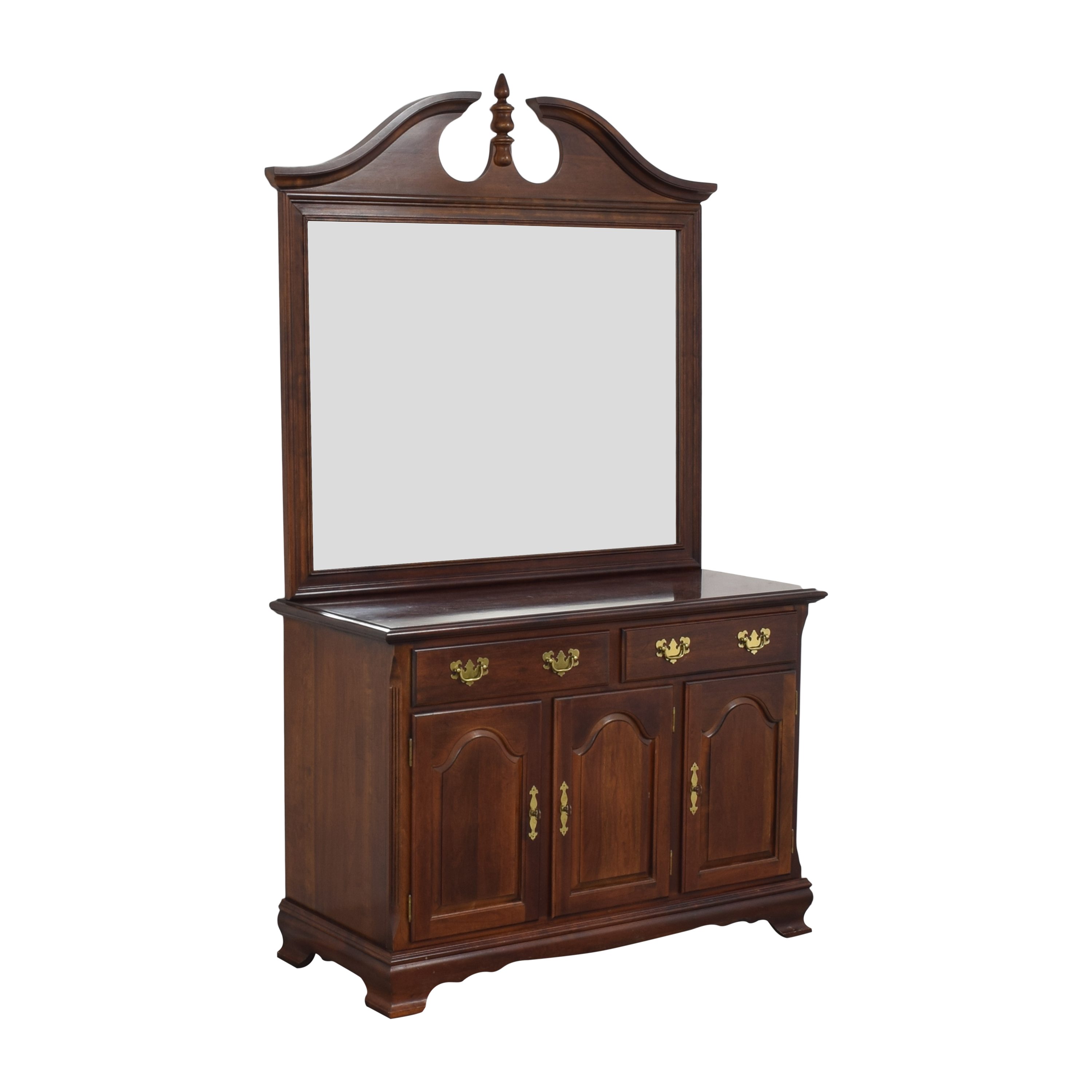 Drexel Heritage Drexel Heritage Chippendale-Style Buffet with Mirror pa