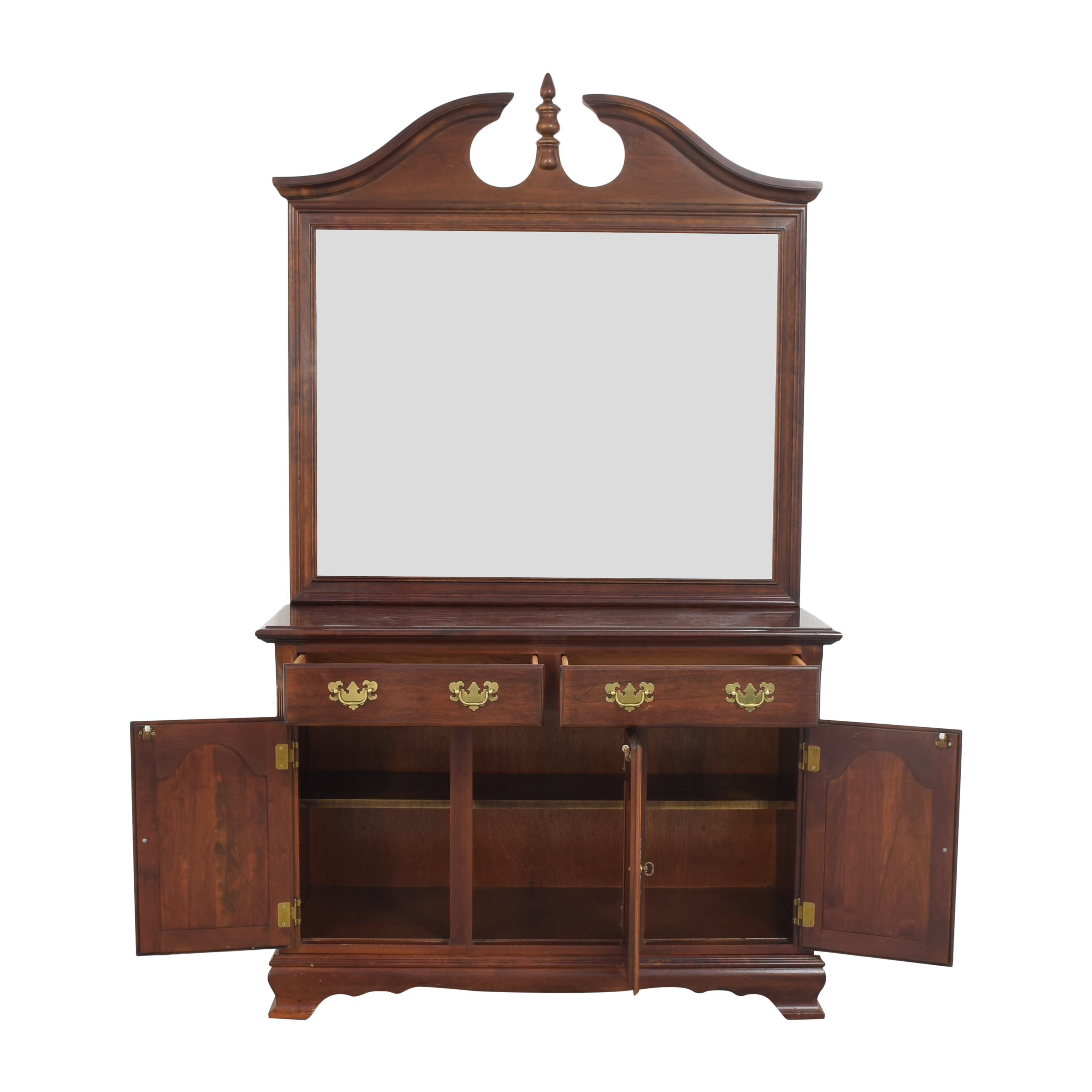 Drexel Heritage Drexel Heritage Chippendale-Style Buffet with Mirror discount