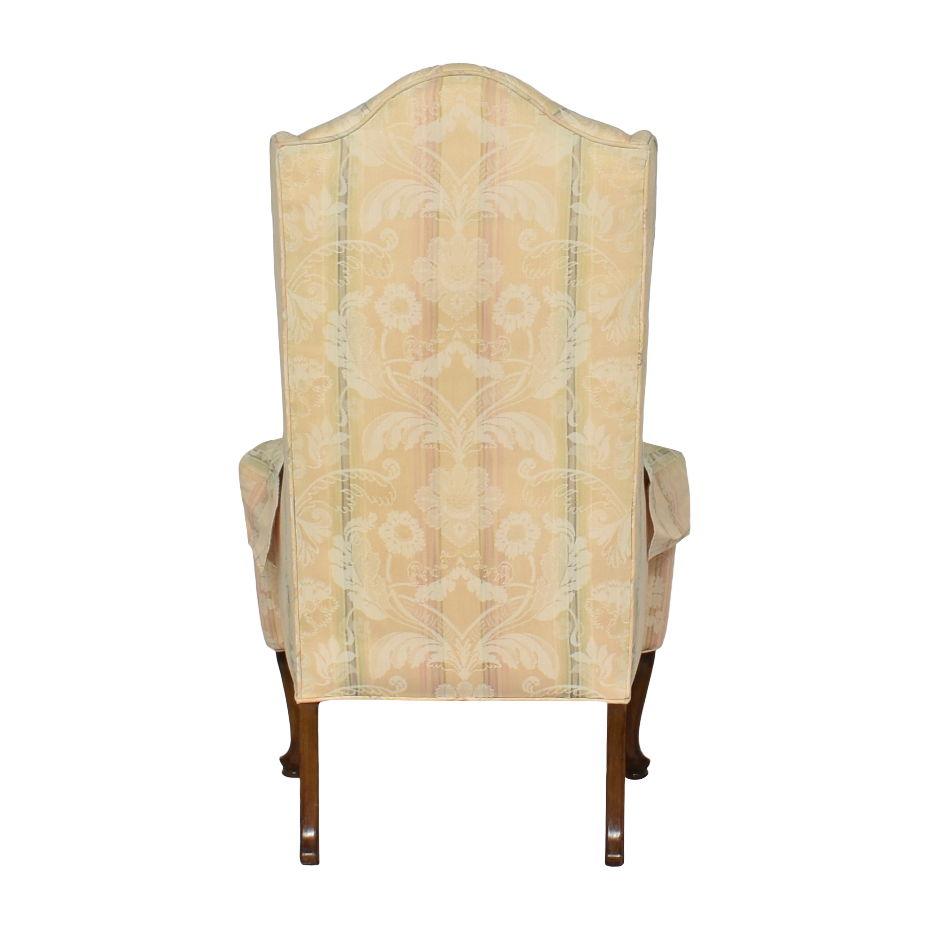 Custom Upholstered Queen Anne Wing Chair Chairs