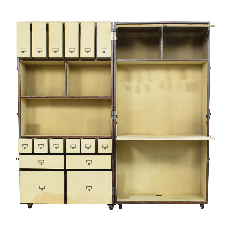 Restoration Hardware Mayfair Steamer Trunk Secretary sale