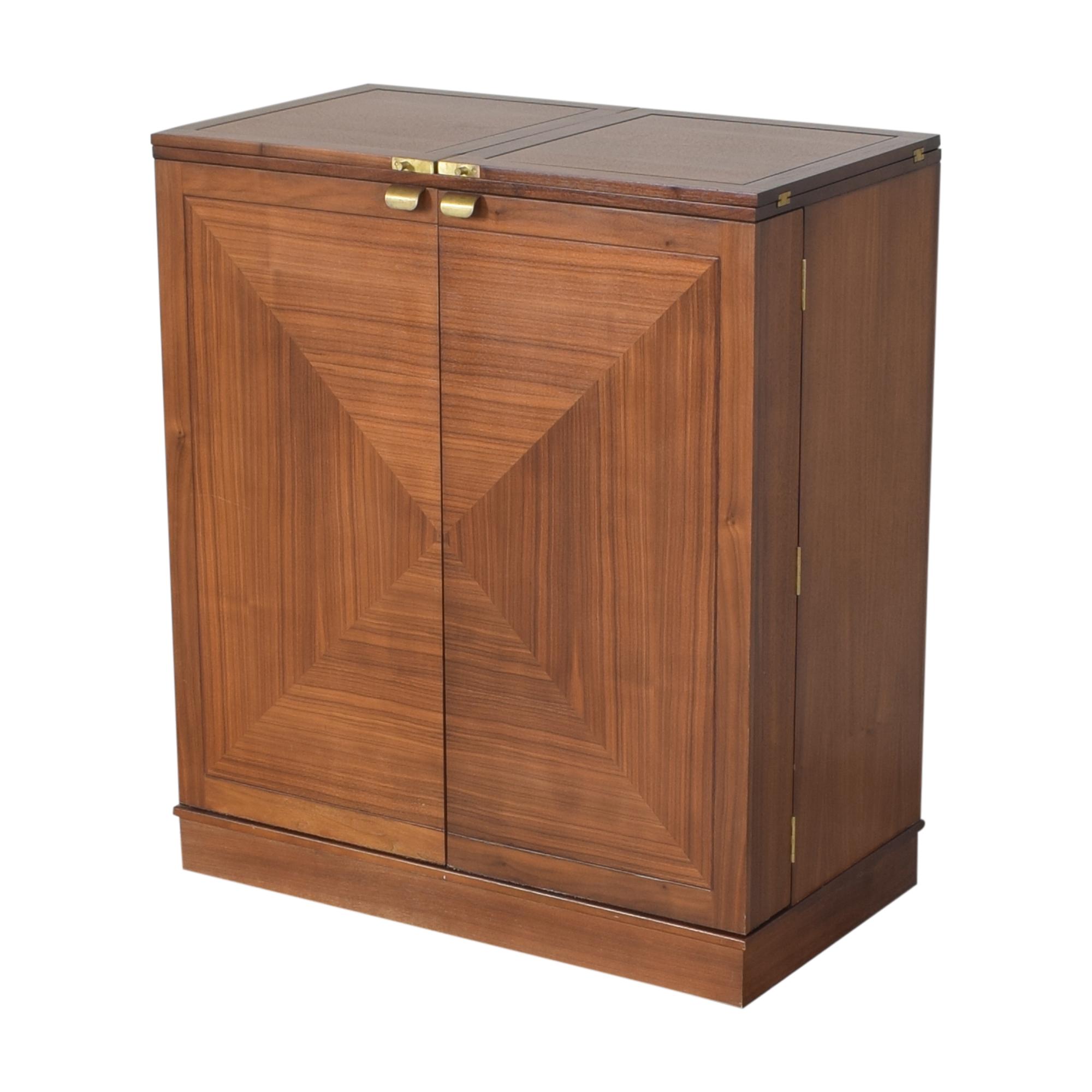 buy Crate & Barrel Maxine Bar Cabinet Crate & Barrel Storage