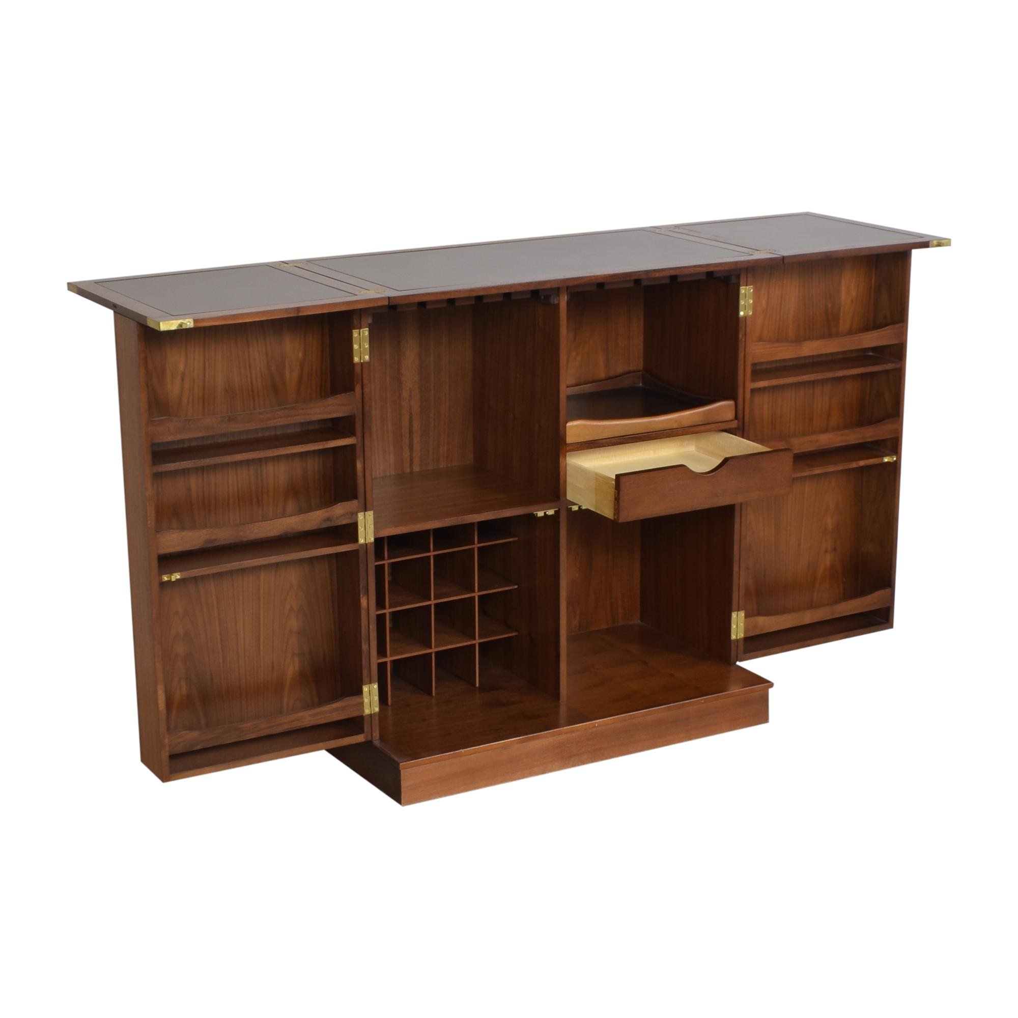 Crate & Barrel Crate & Barrel Maxine Bar Cabinet Cabinets & Sideboards