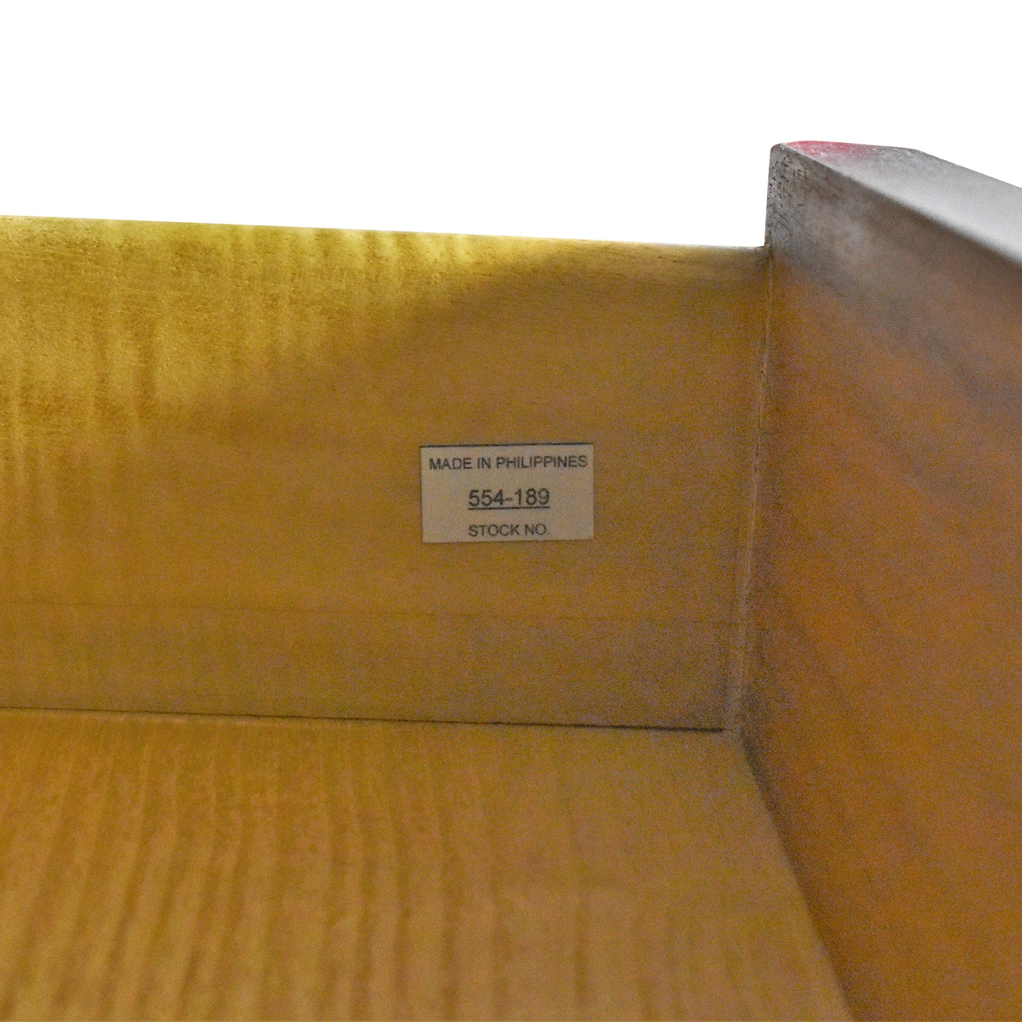 Crate & Barrel Crate & Barrel Maxine Bar Cabinet on sale