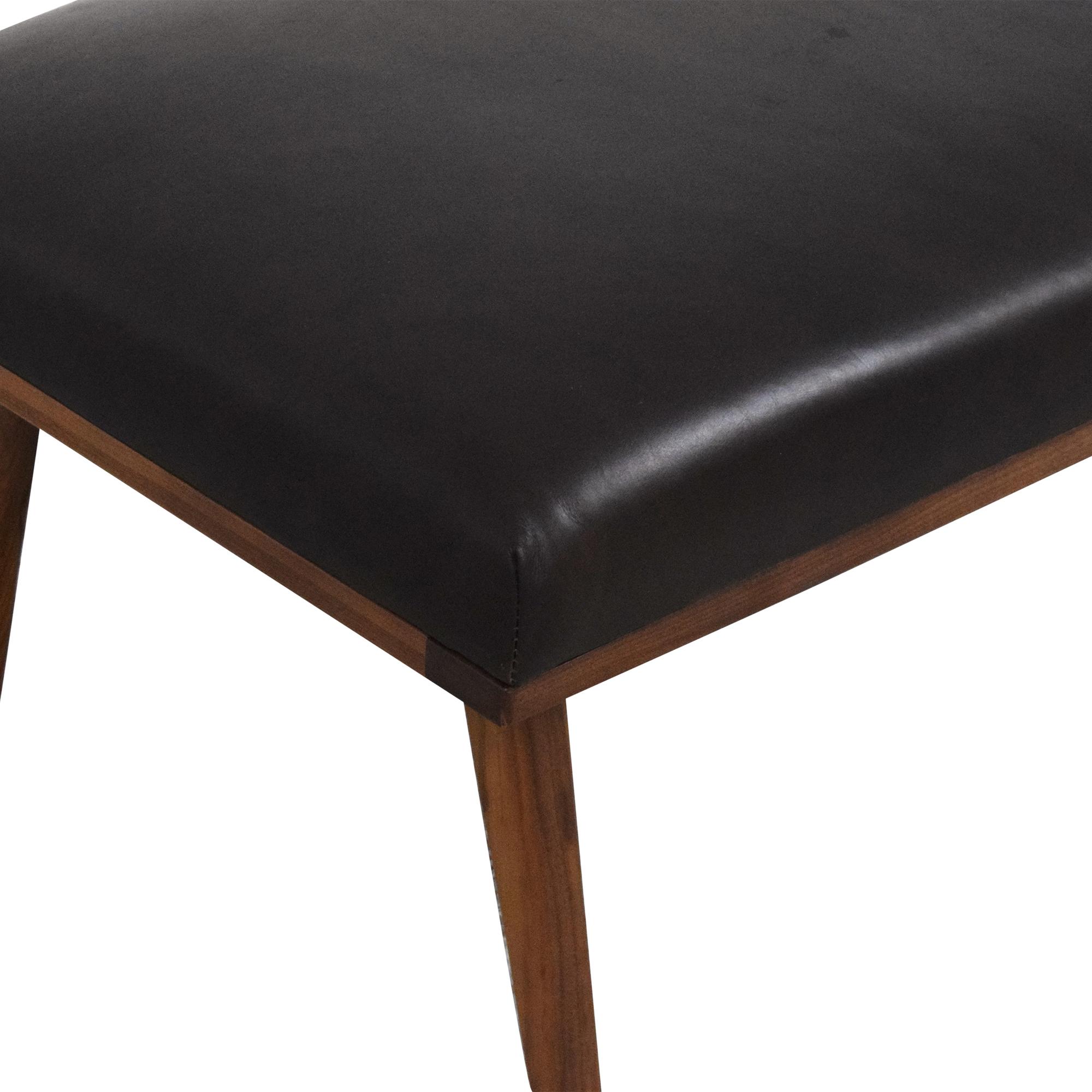 shop Crate & Barrel Crate & Barrel Cavett Upholstered Bench online