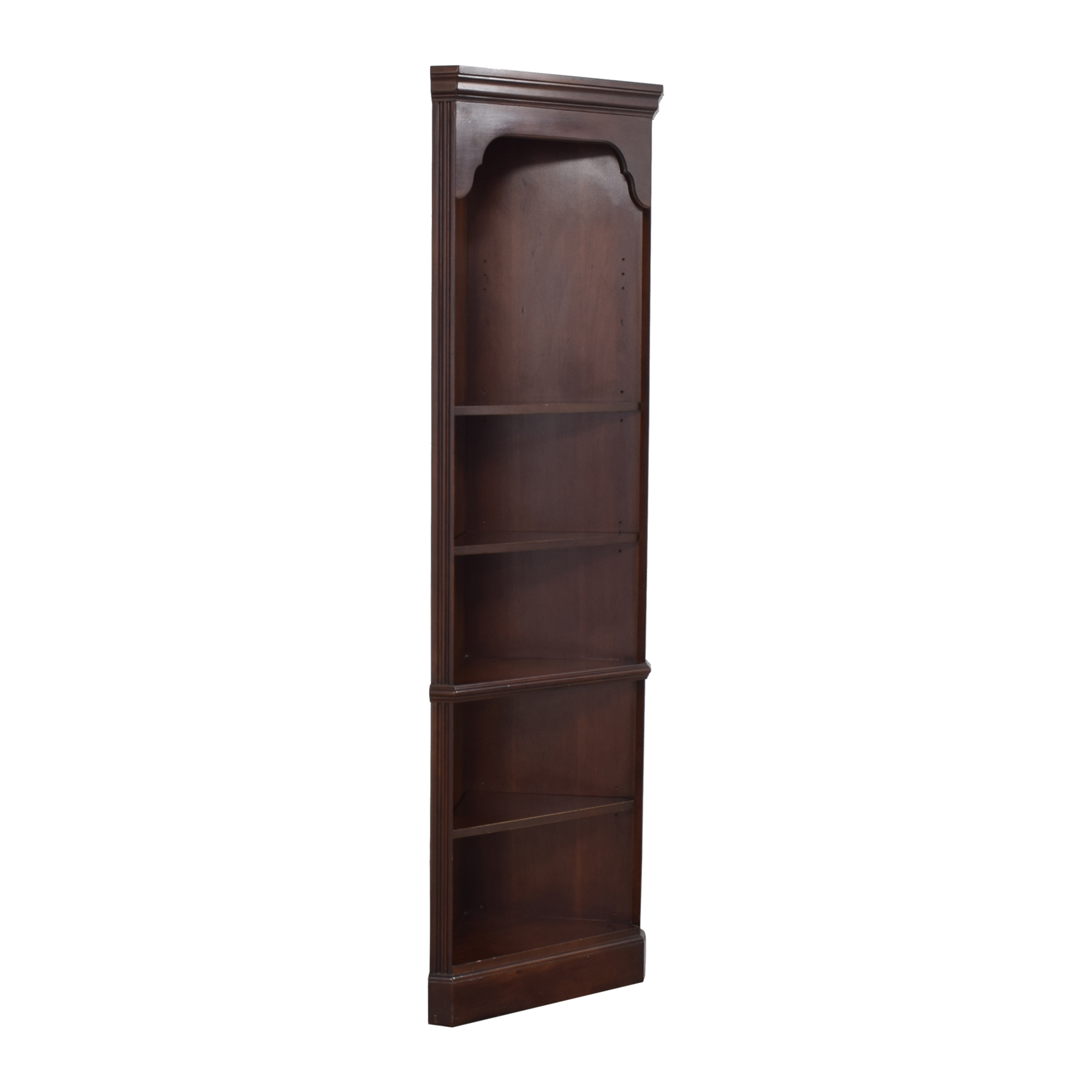 Drexel Heritage Corner Bookcase / Bookcases & Shelving