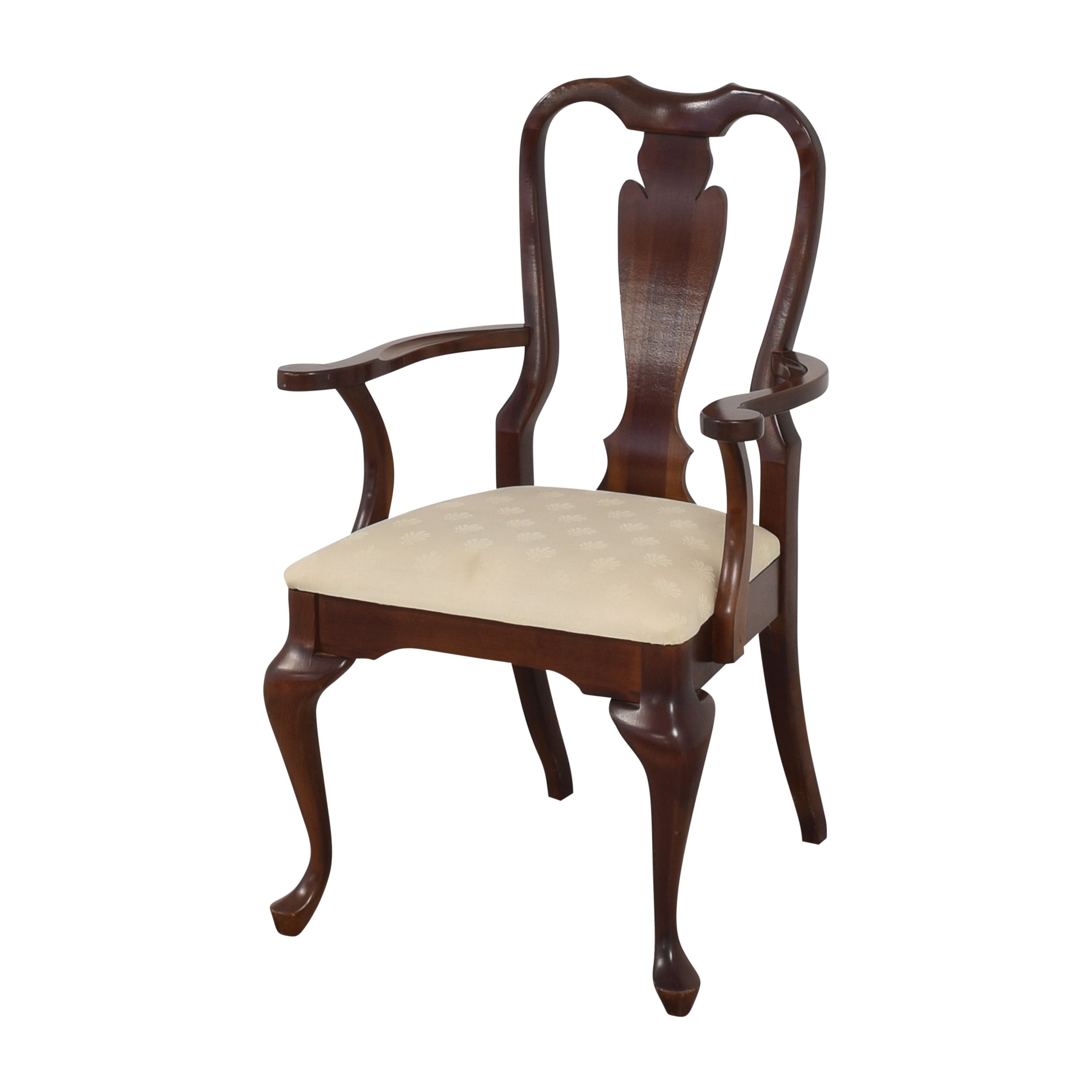 buy Cresent Furniture Queen Anne Dining Arm Chairs Cresent Furniture