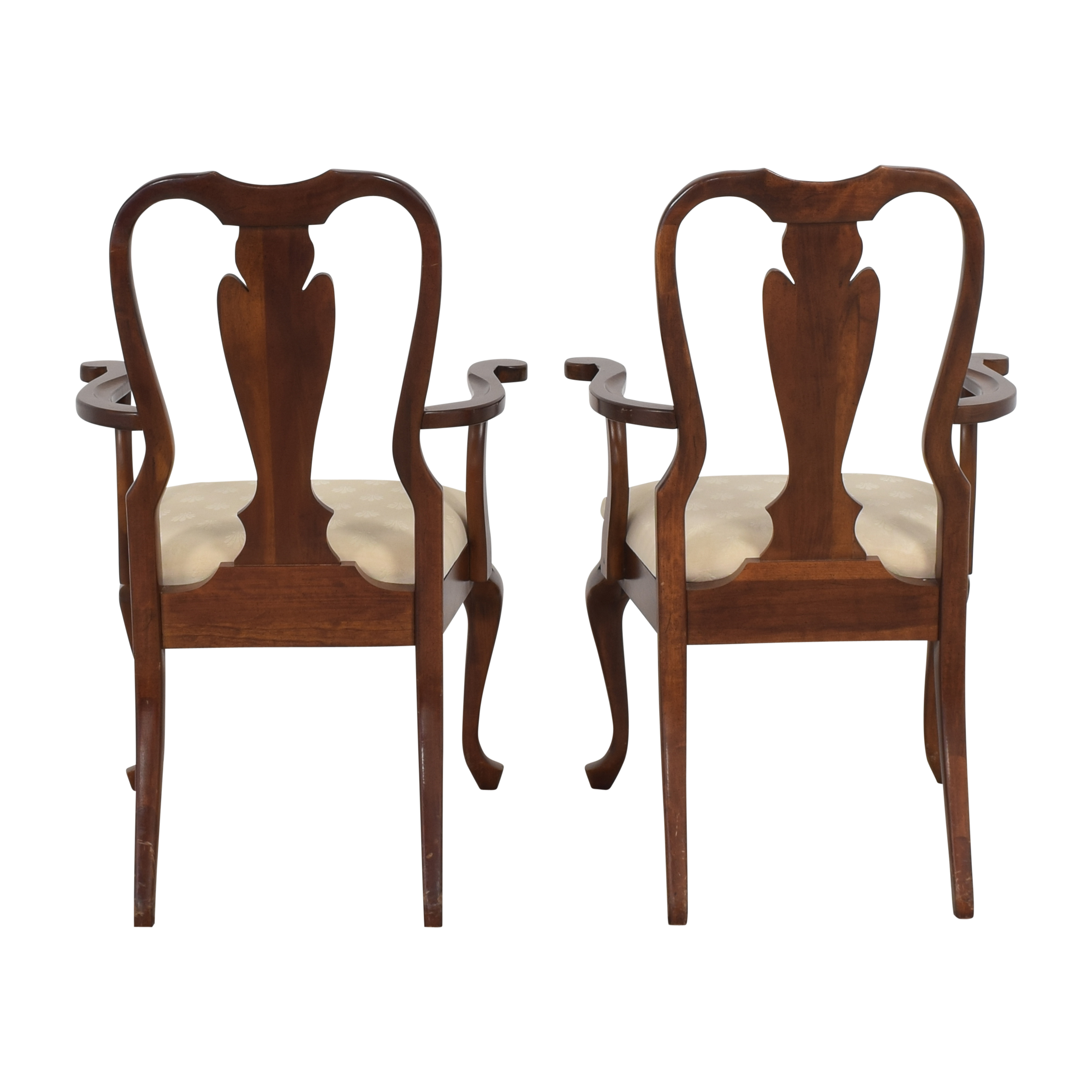 shop Cresent Furniture Cresent Furniture Queen Anne Dining Arm Chairs online