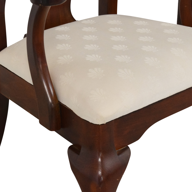shop Cresent Furniture Queen Anne Dining Arm Chairs Cresent Furniture Chairs