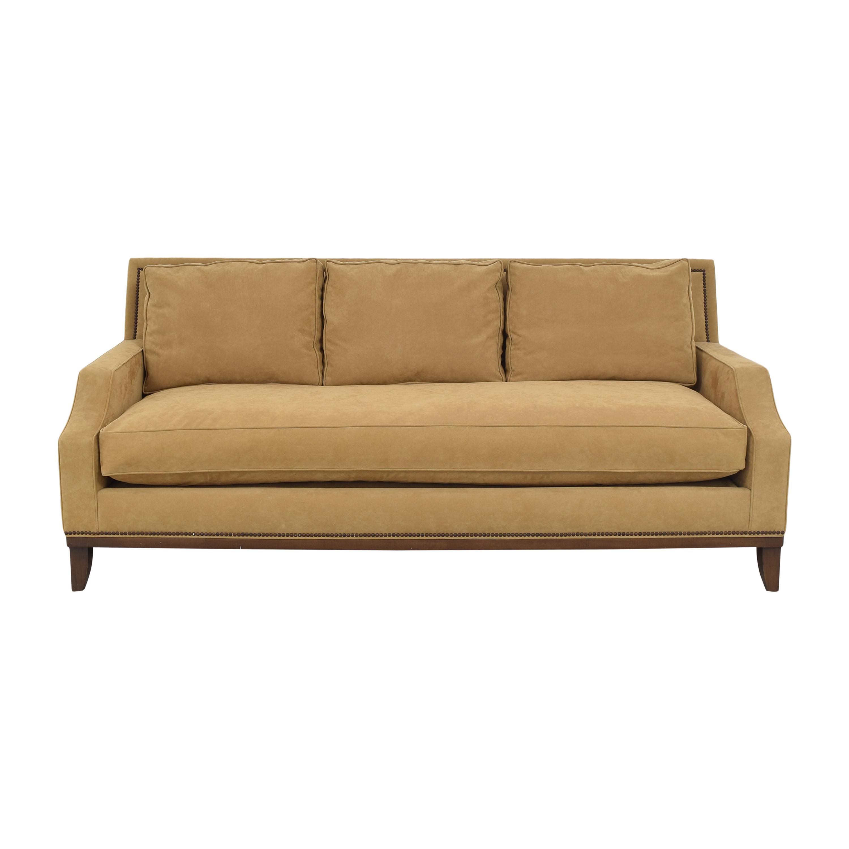 Modern Bench Cushion Sofa