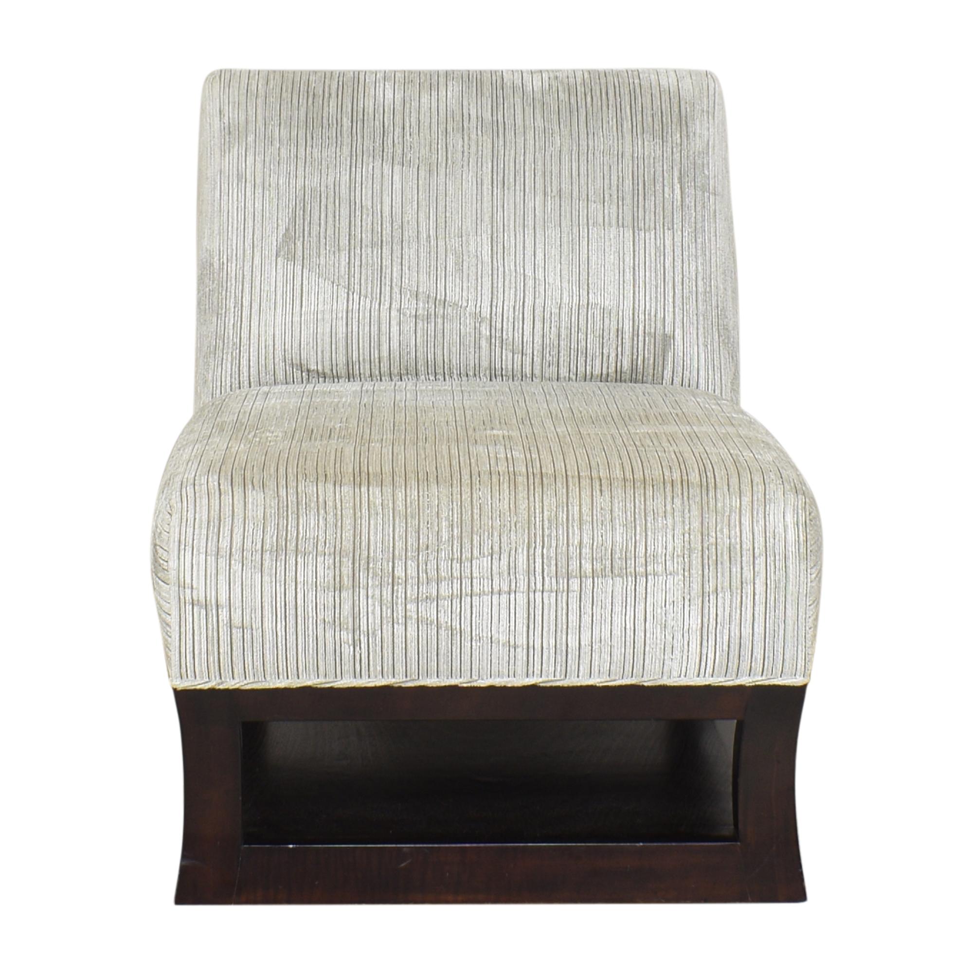 shop Custom Swivel Slipper Chair  Accent Chairs