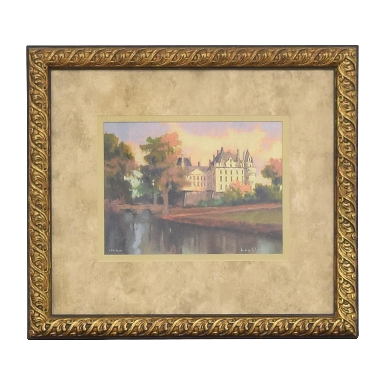 buy Ethan Allen Ethan Allen Hayslette Chateau in Autumn Wall Art online