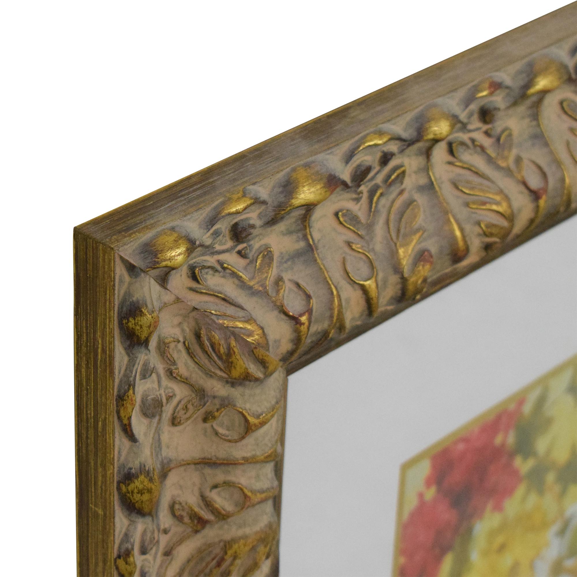 Ethan Allen Ethan Allen Flowers Framed Wall Art price