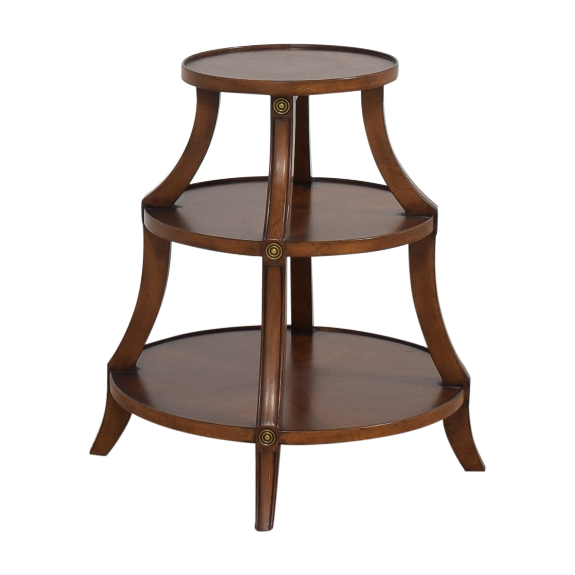Ethan Allen Ethan Allen Tiered Accent Table ct