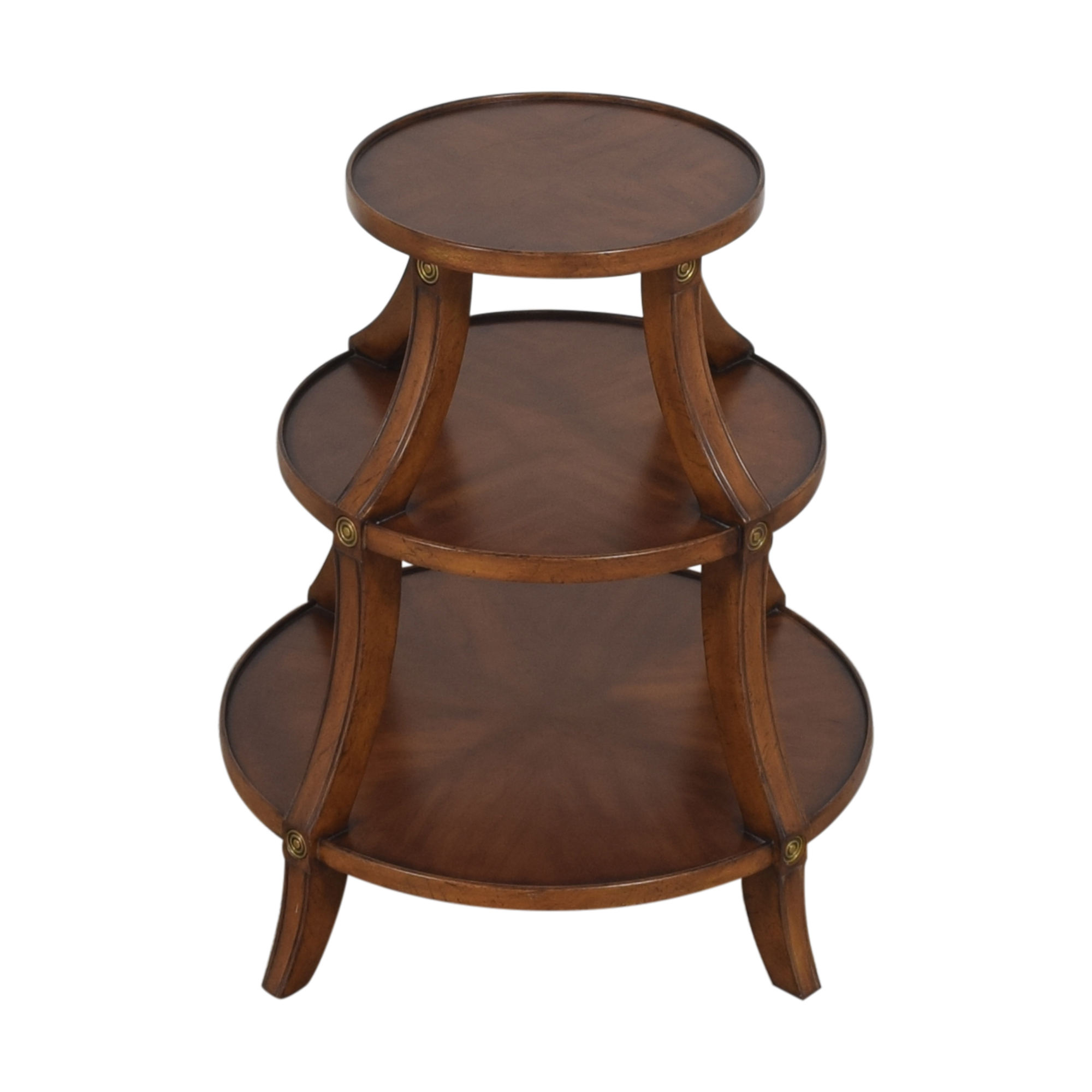 shop Ethan Allen Tiered Accent Table Ethan Allen Tables