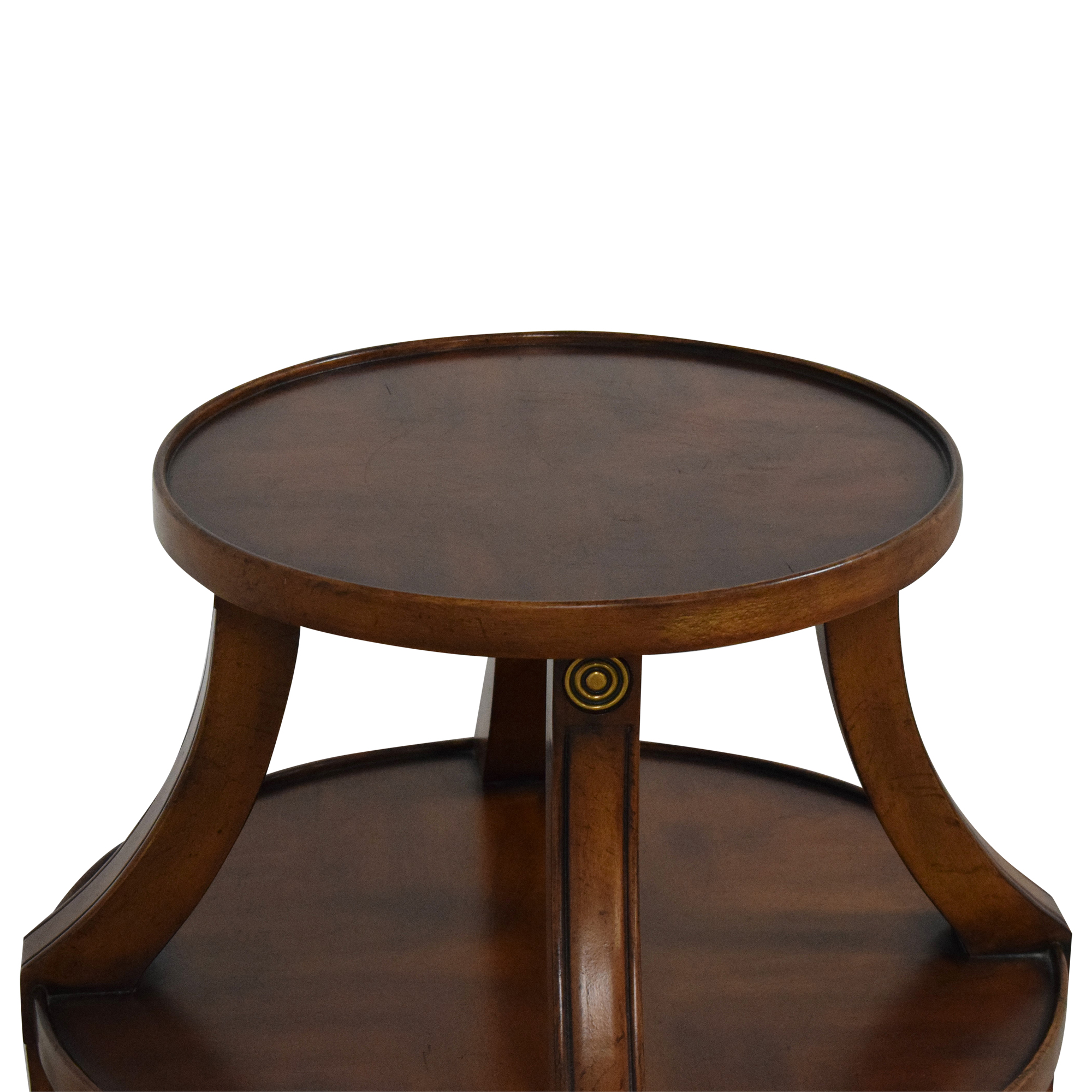 Ethan Allen Ethan Allen Tiered Accent Table pa