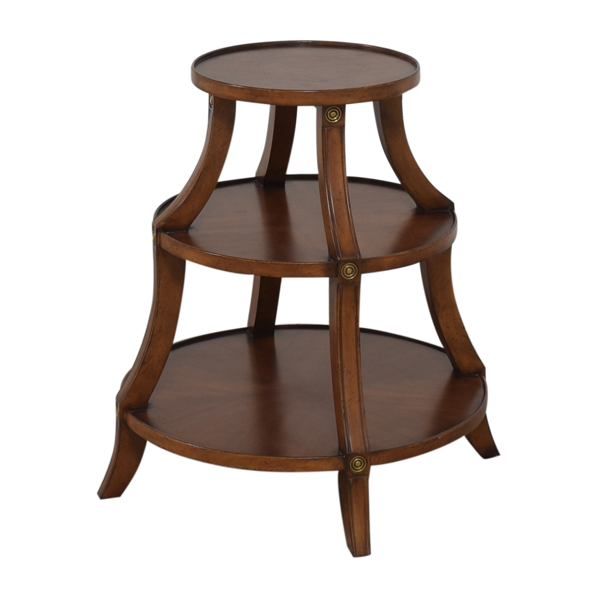 Ethan Allen Ethan Allen Tiered Accent Table ma