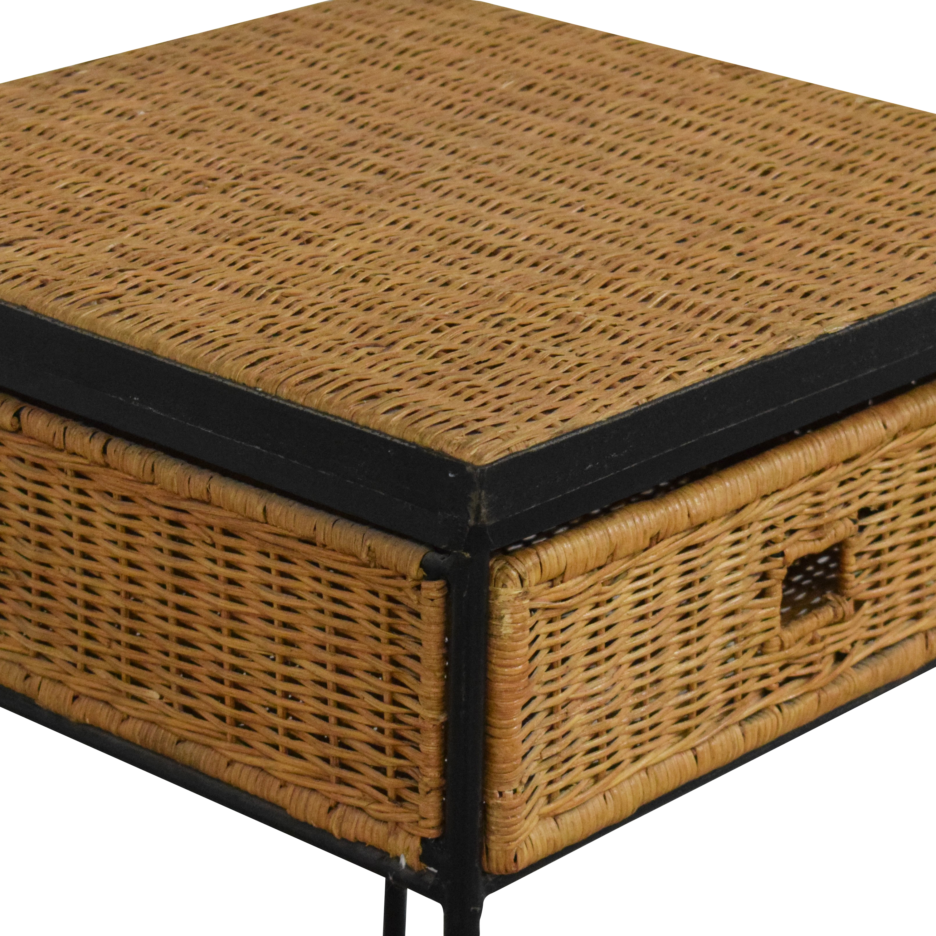 Pottery Barn Pottery Barn Woven End Table price