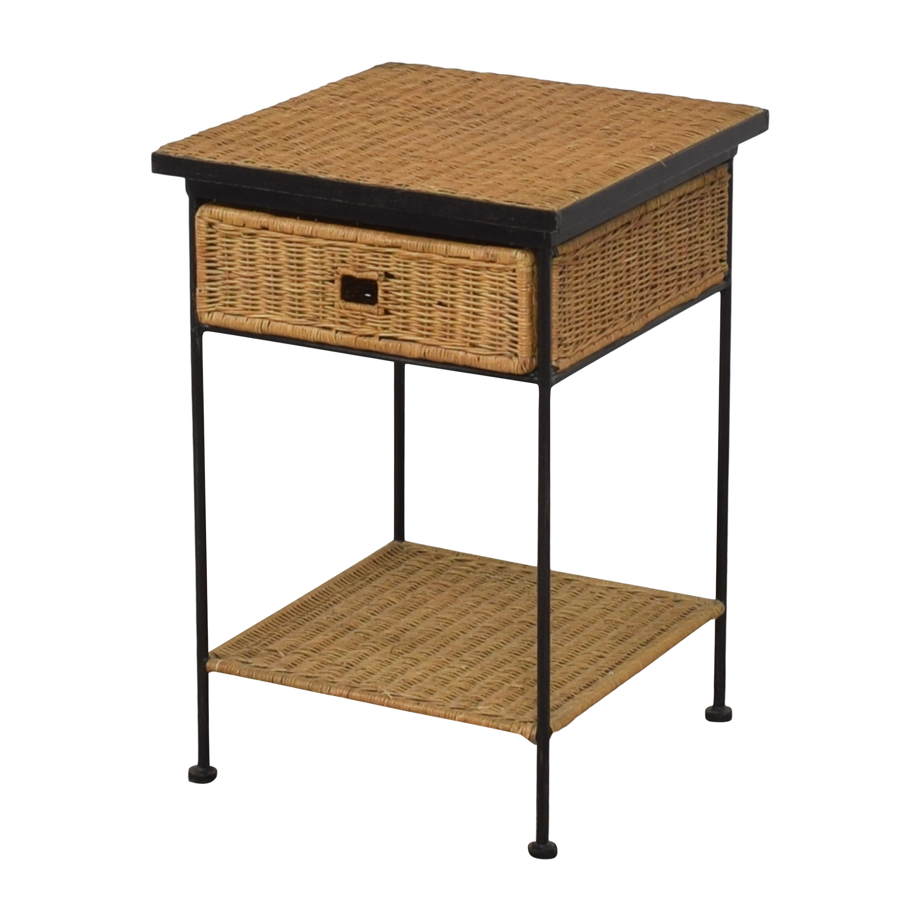 Pottery Barn Woven End Table / End Tables