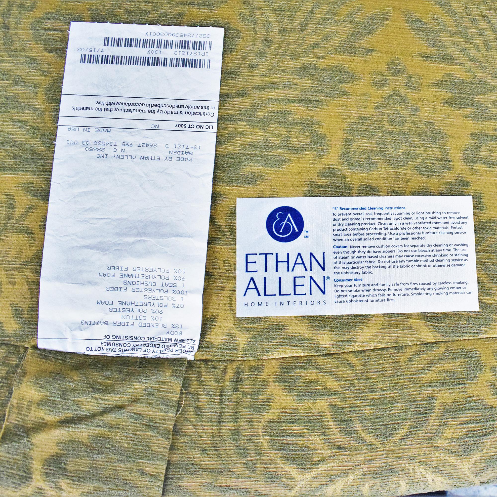 Ethan Allen Ethan Allen Bergere Chair pa