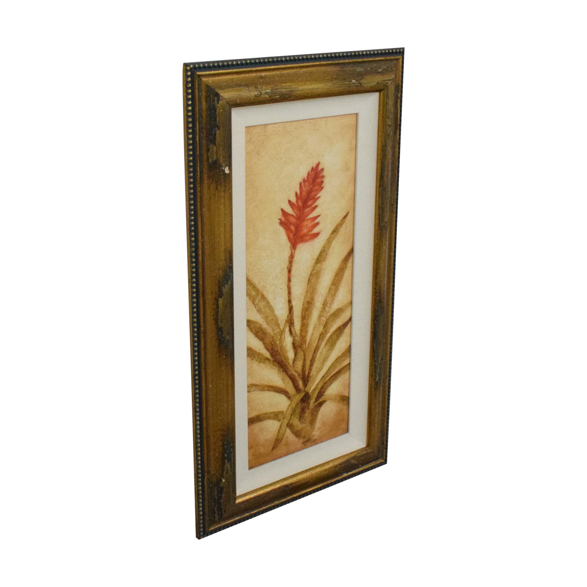 buy Ethan Allen Walter Paulson Tropical Flora Framed Wall Art Ethan Allen