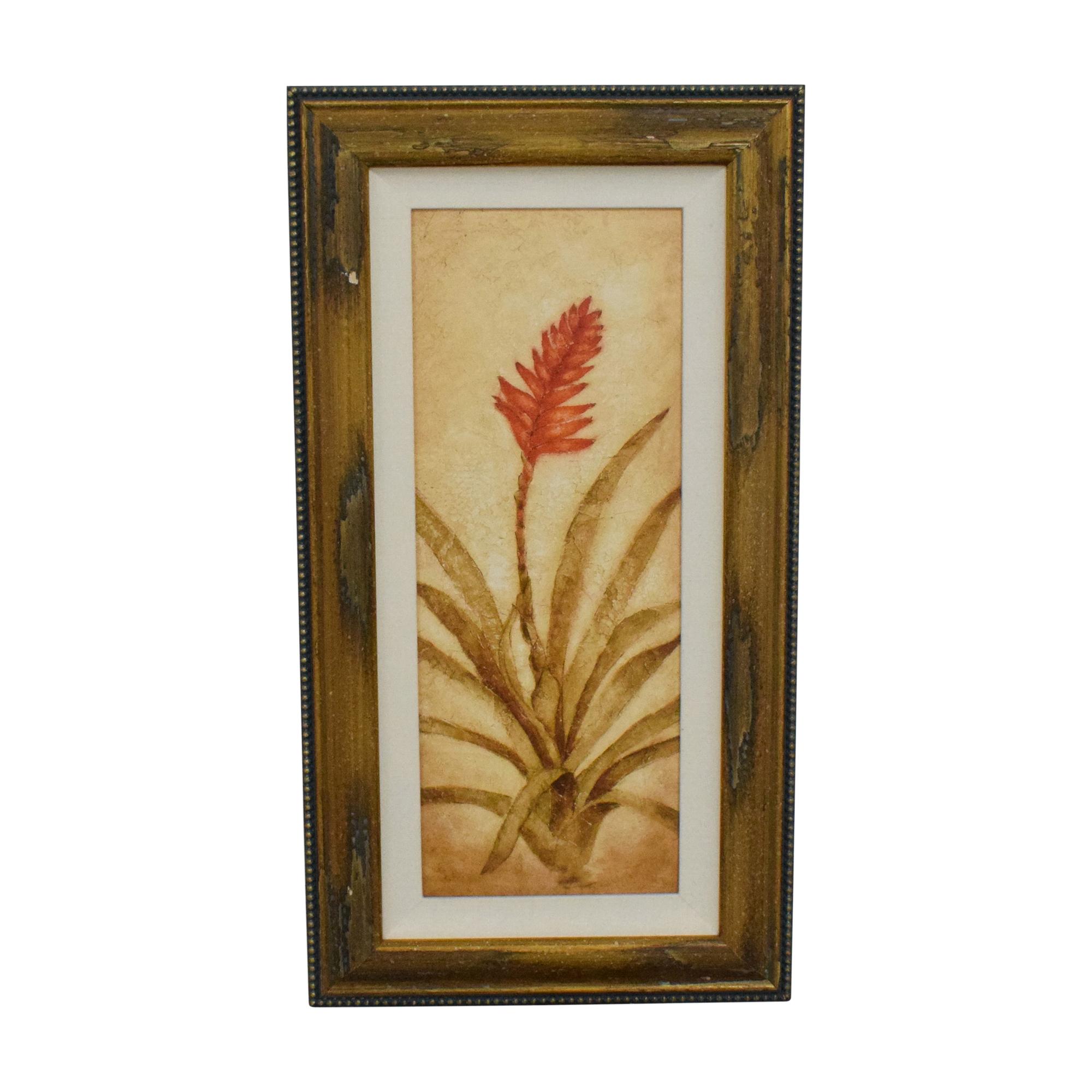 Ethan Allen Ethan Allen Walter Paulson Tropical Flora Framed Wall Art price