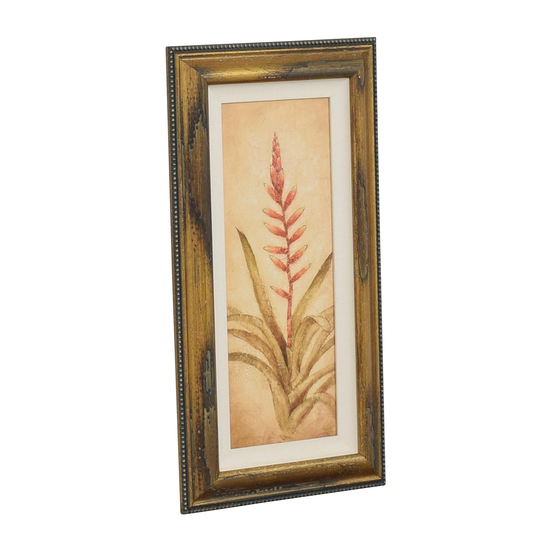 Ethan Allen Ethan Allen Walter Paulson Tropical Flora Wall Art discount