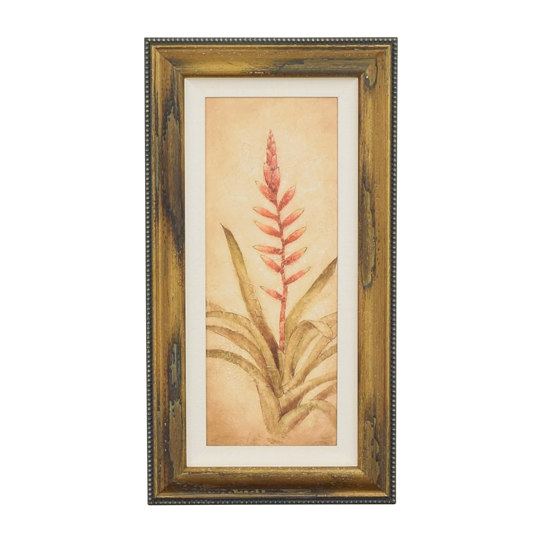 Ethan Allen Ethan Allen Walter Paulson Tropical Flora Wall Art