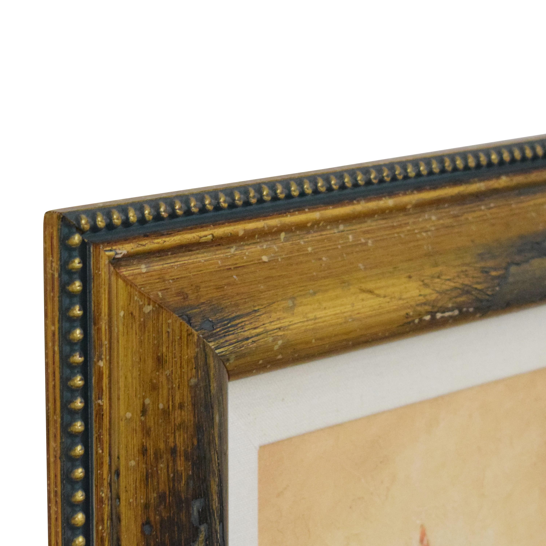 Ethan Allen Ethan Allen Walter Paulson Tropical Flora Wall Art on sale