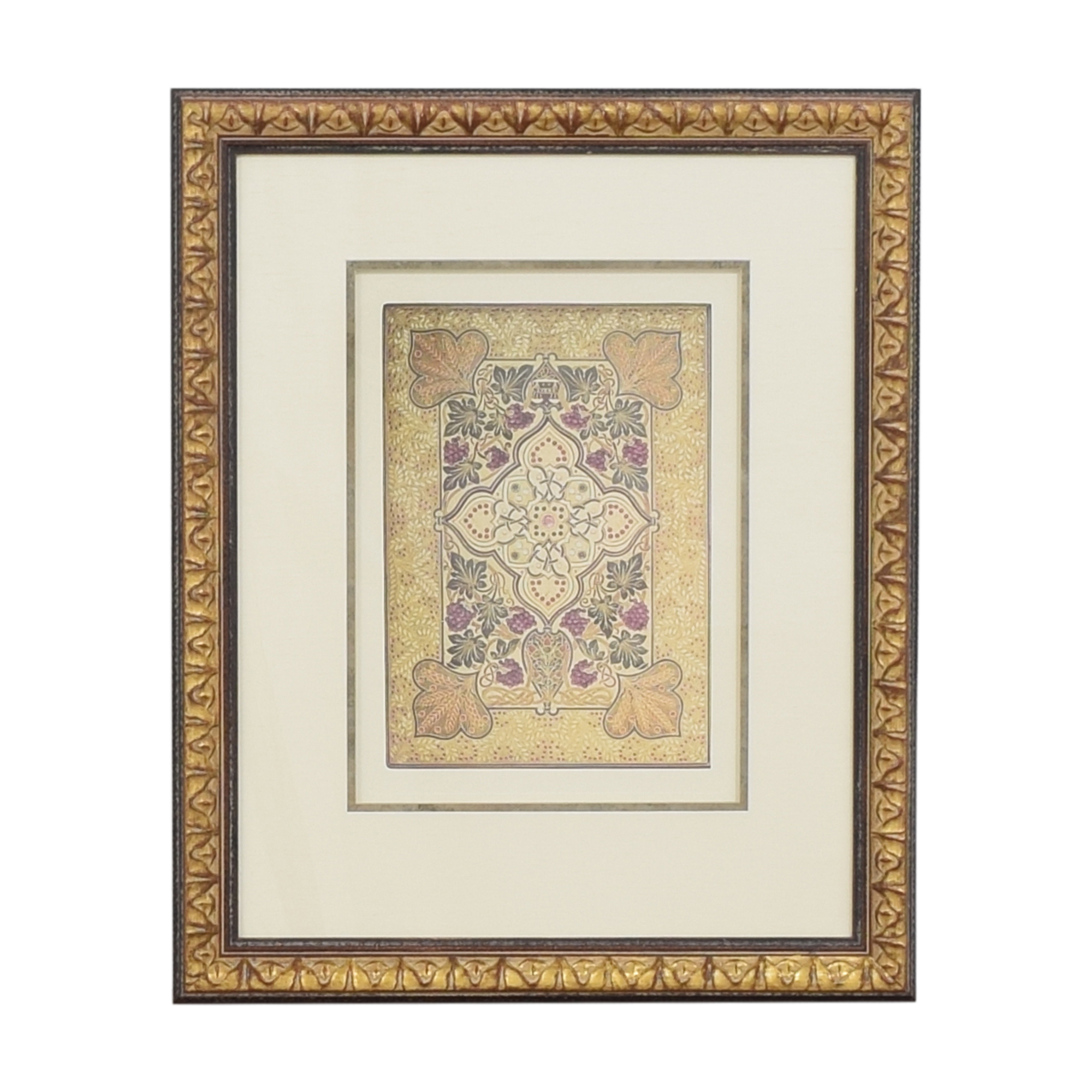 Ethan Allen Ethan Allen Jeweled Cover Framed Wall Art coupon