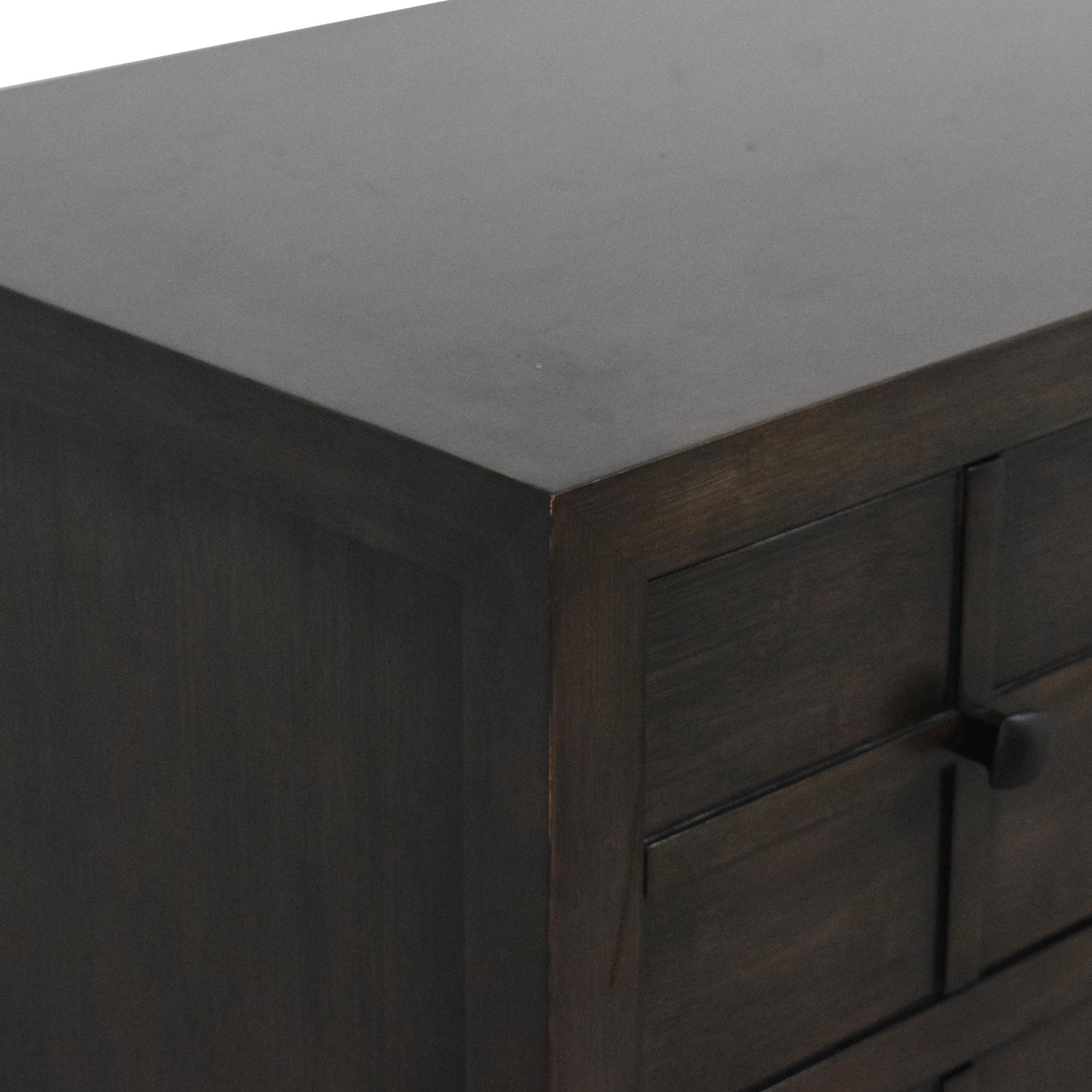 buy Maria Yee for Crate & Barrel Bento Kona Dresser  Crate & Barrel Dressers