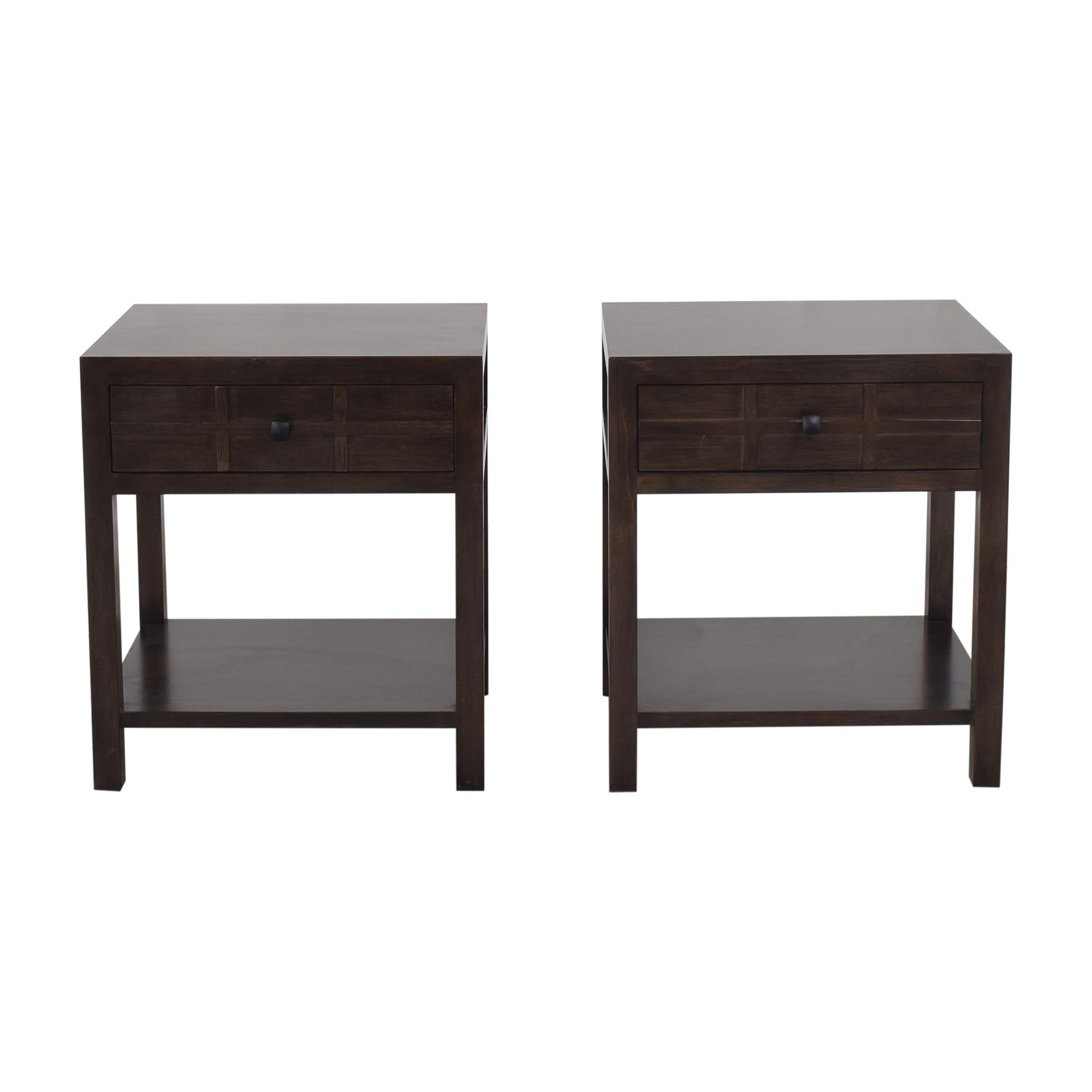 shop Maria Yee for Crate & Barrel Bento Kona Nightstands Crate & Barrel