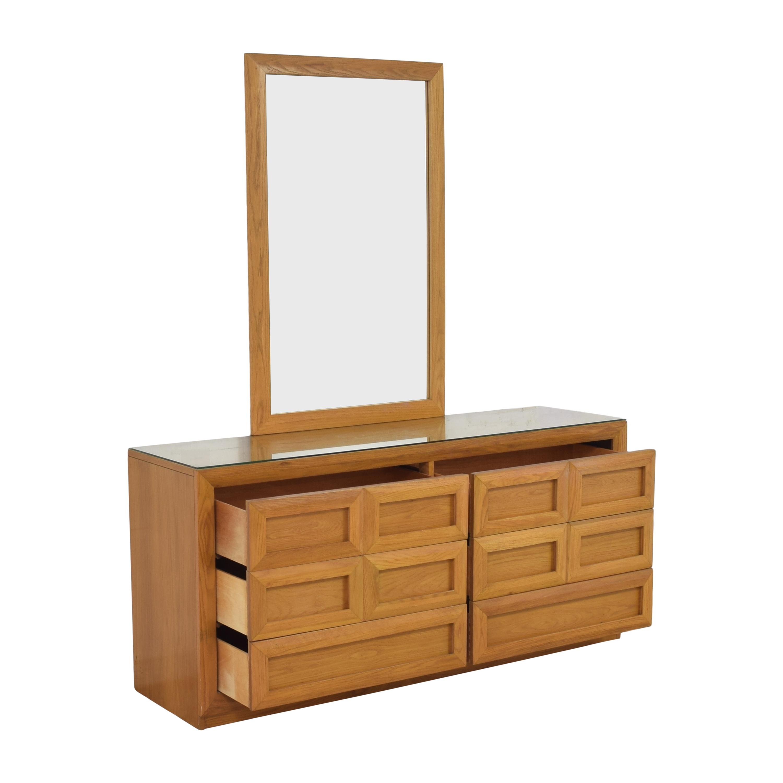 shop Thomasville Thomasville Double Dresser with Mirror online