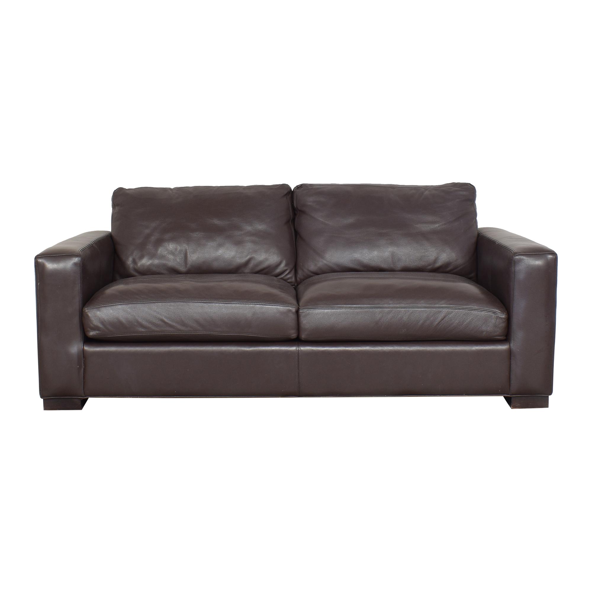 buy Room & Board Metro Two Cushion Sofa Room & Board