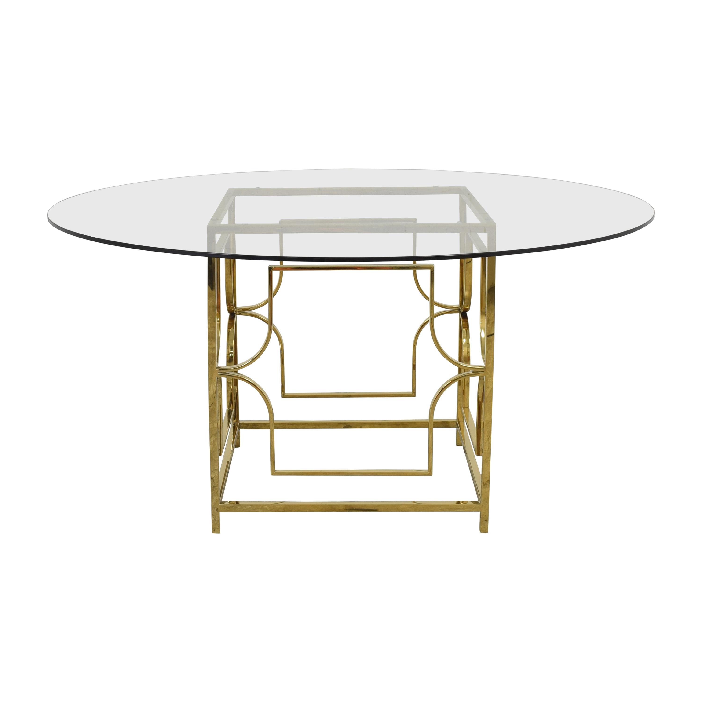 Wayfair Wayfair Benson Pedestal Dining Table Dinner Tables