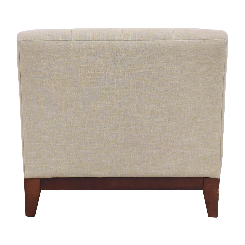 Macy's Macy's Tufted Slipper Chair discount