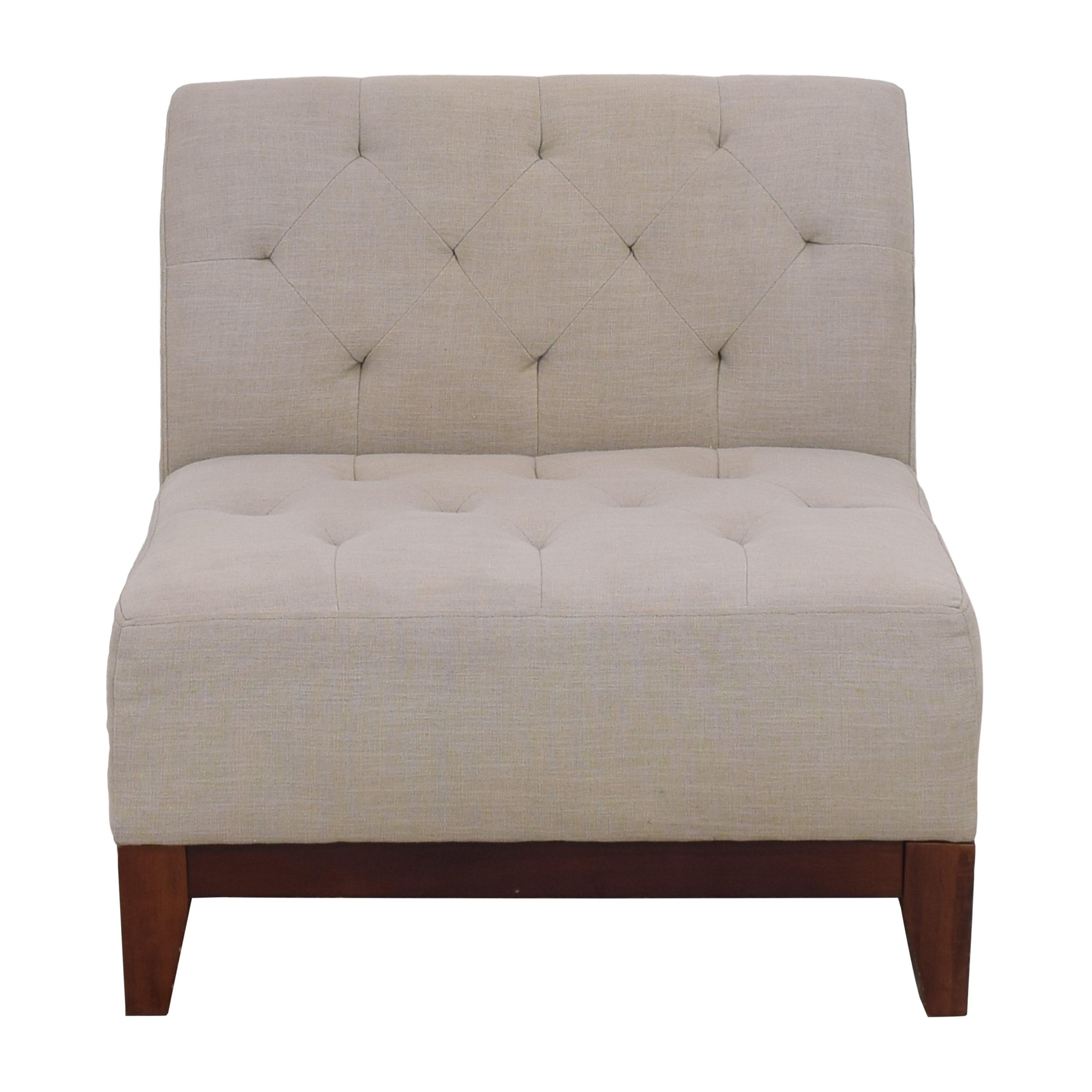 Macy's Macy's Tufted Slipper Chair coupon