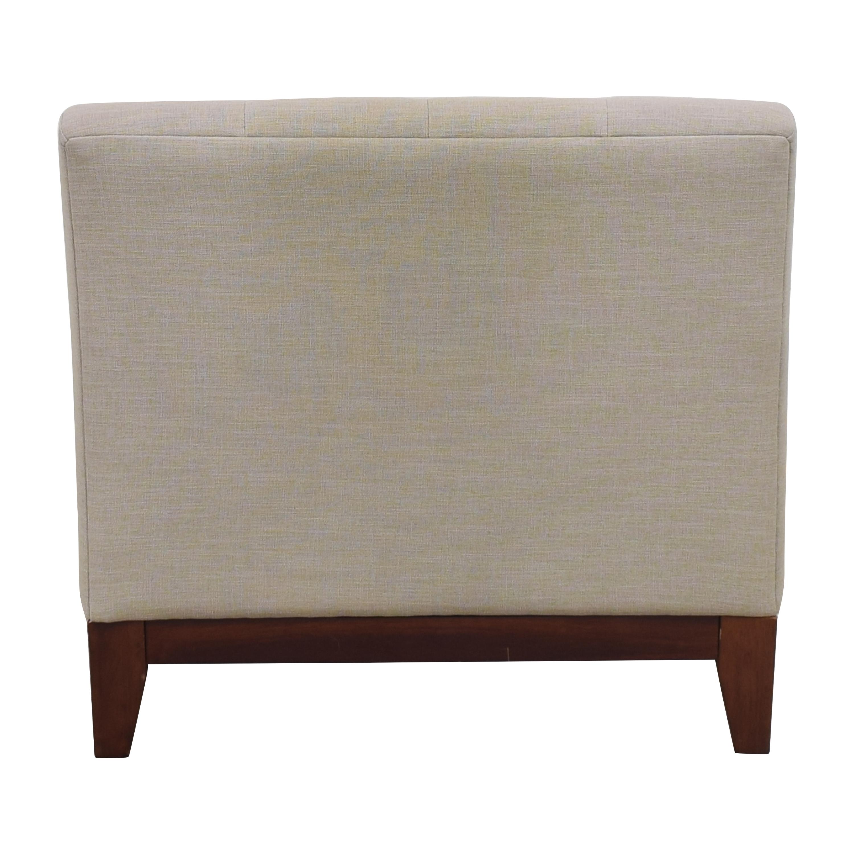 Macy's Macy's Tufted Slipper Chair on sale